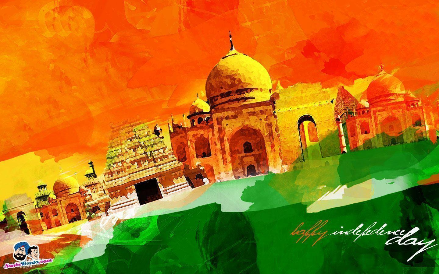 Indian Independence Greetings Wallpapers ~ INDIAN CINEMA