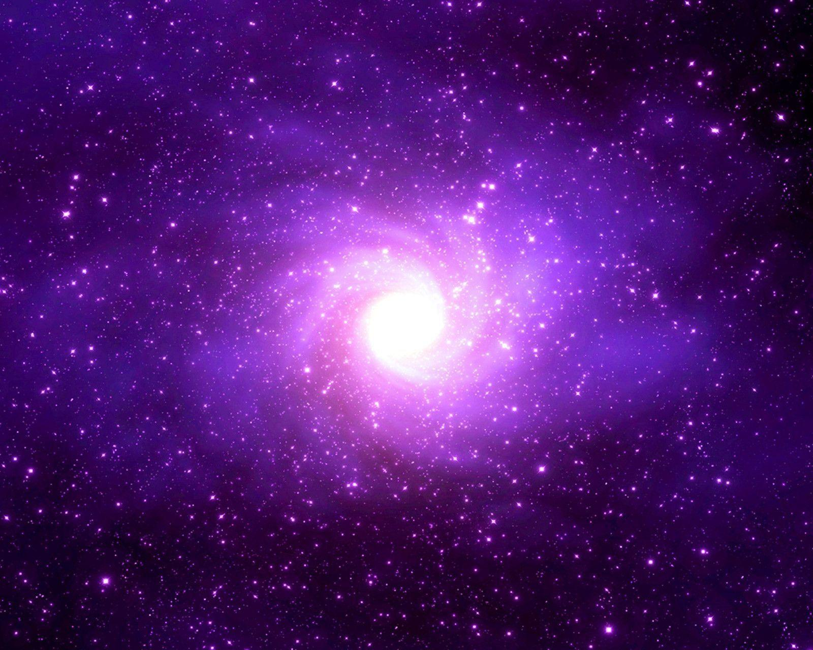 Wallpapers For > Light Purple Galaxy Wallpapers