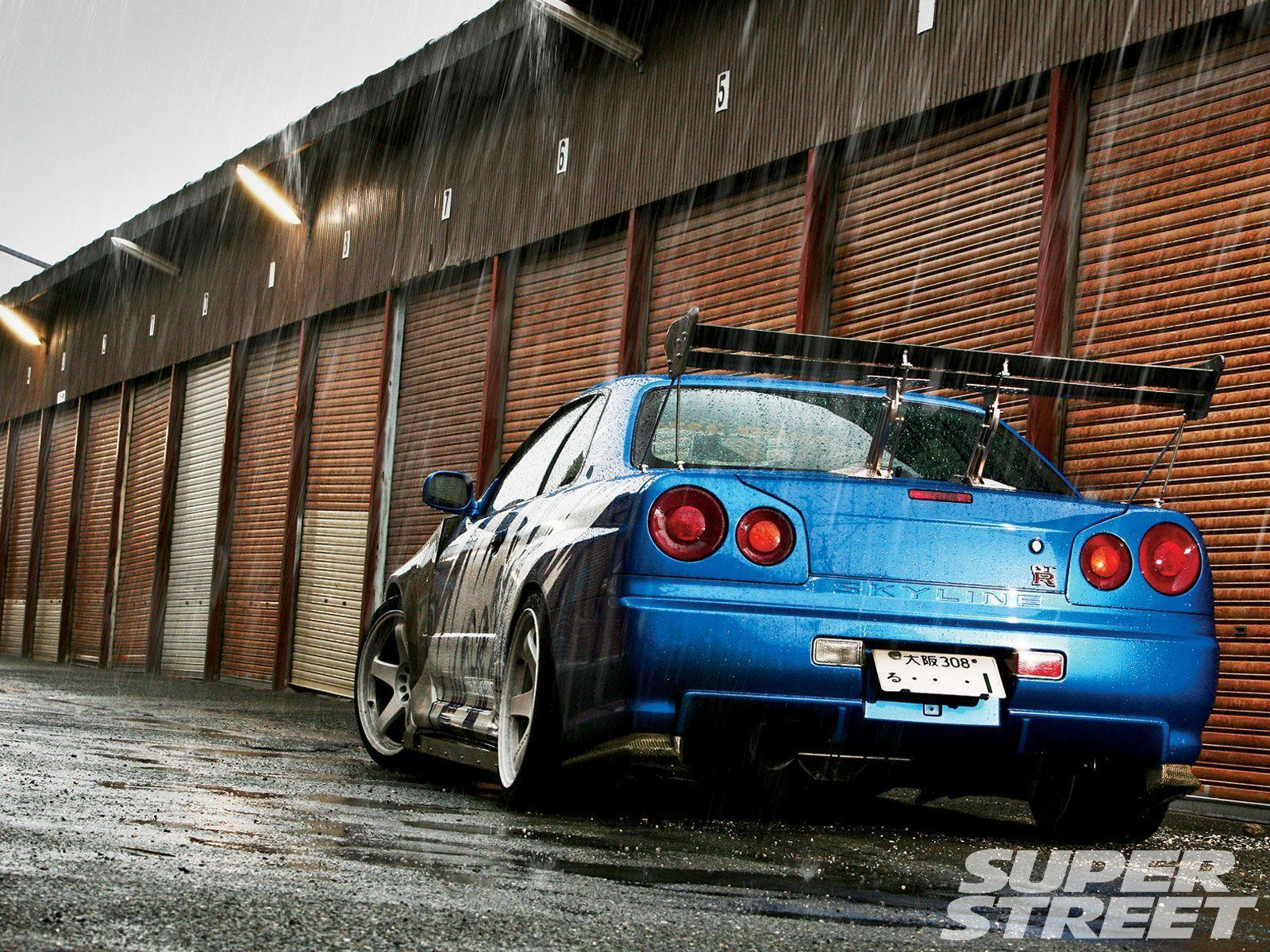 Nissan Skyline GTR R34 Wallpapers - Wallpaper Cave