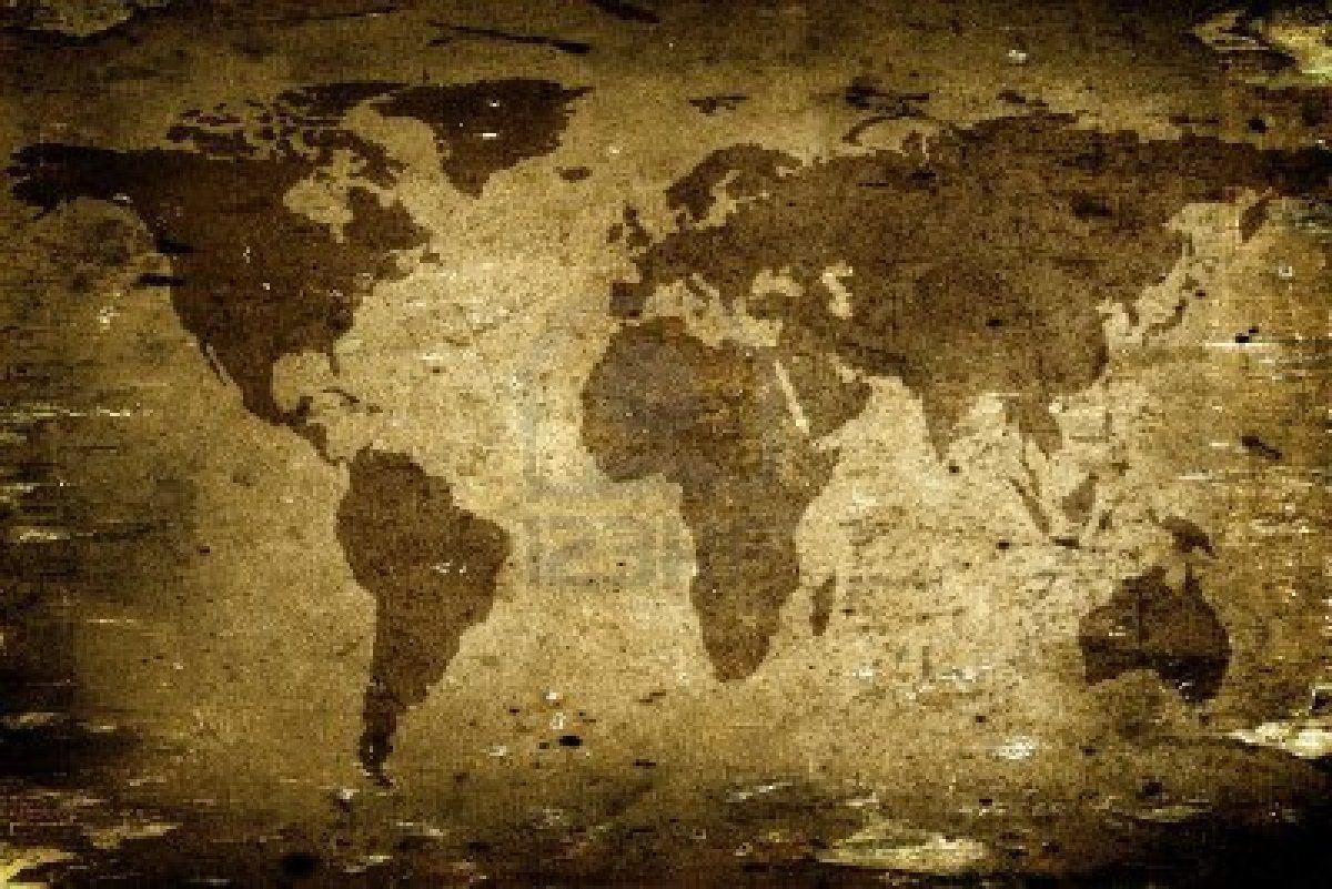 background earth planet map - photo #7