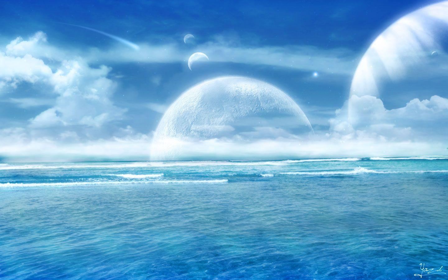 Cool ocean backgrounds wallpaper cave - Ocean pictures for desktop background ...