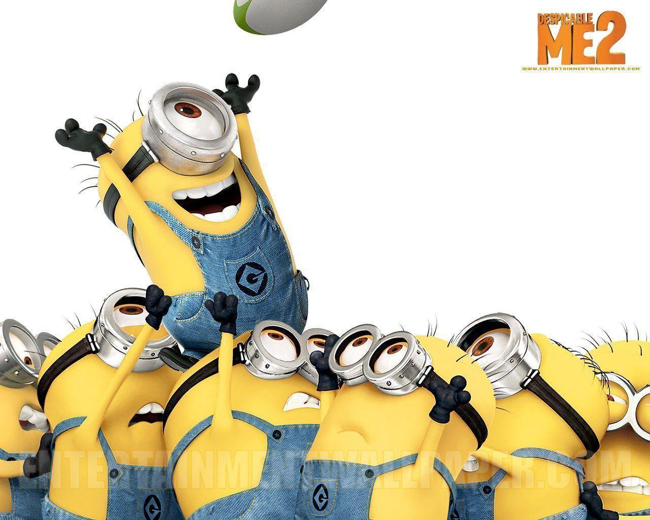 Minions despicable me wallpapers wallpaper cave - Despicable me minion screensaver ...