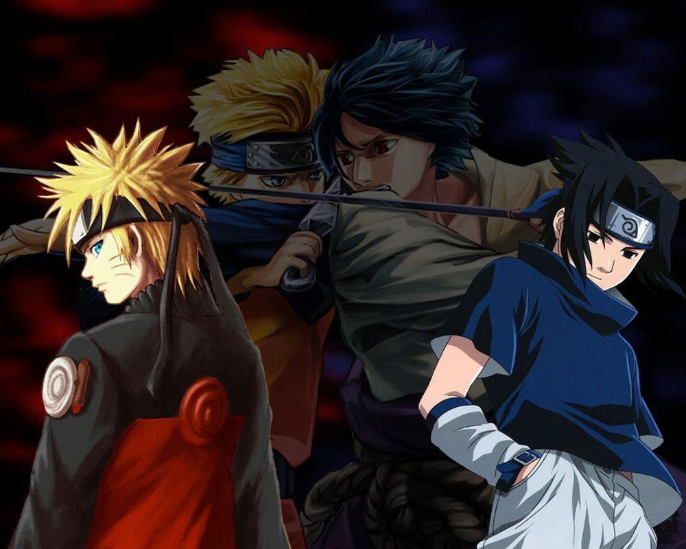 Naruto Vs Sasuke Wallpapers Wallpaper Cave