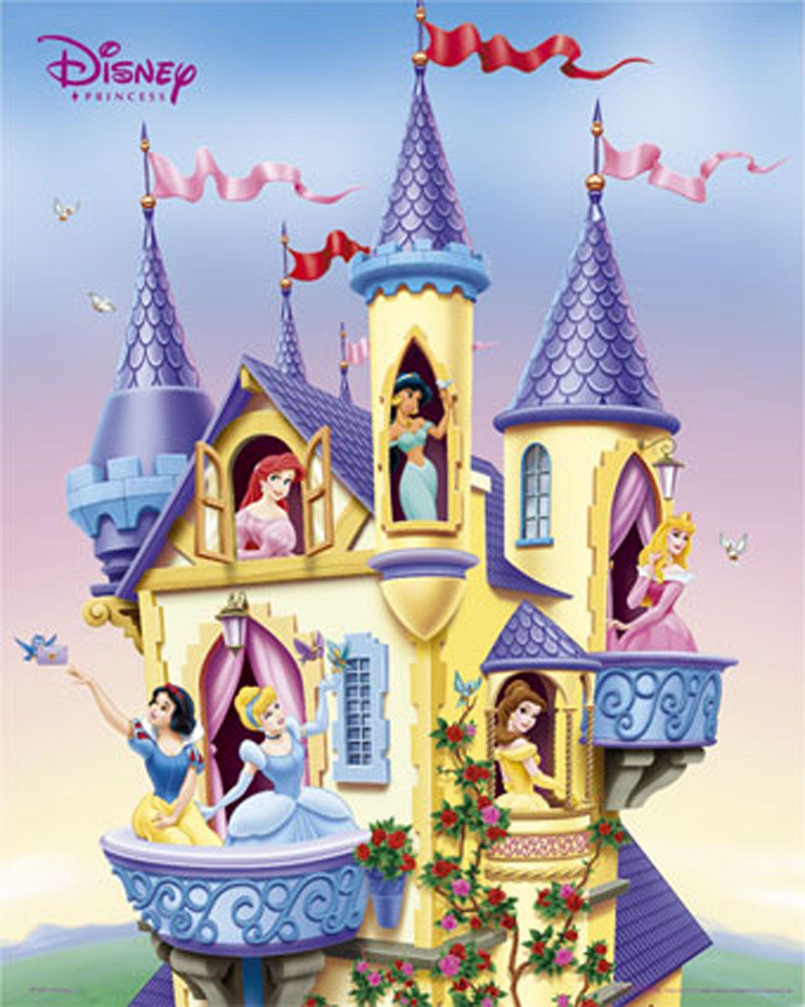 Disney castle wallpaper. Backgrounds cave