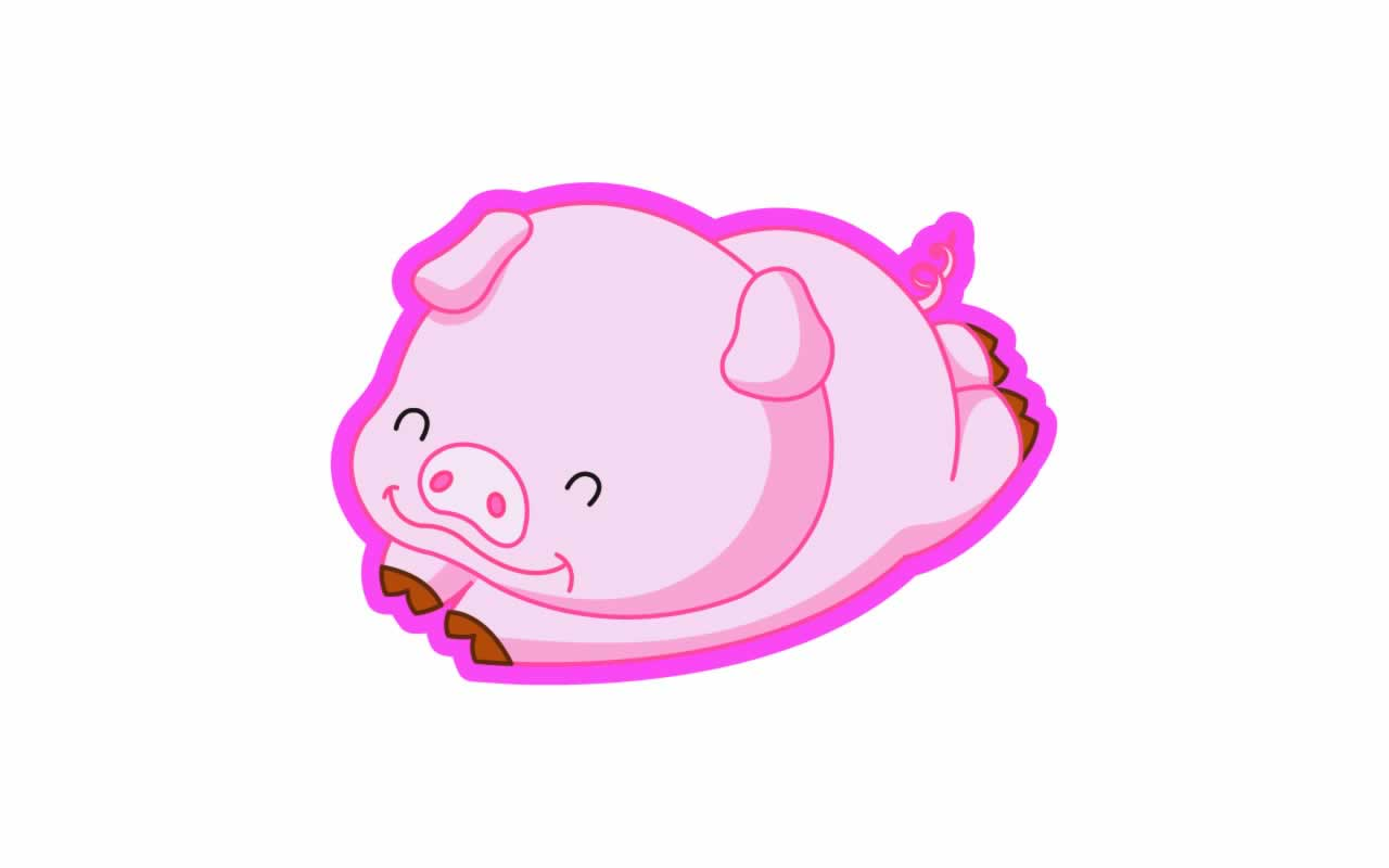 Pig Wallpaper Cute High Definition Download