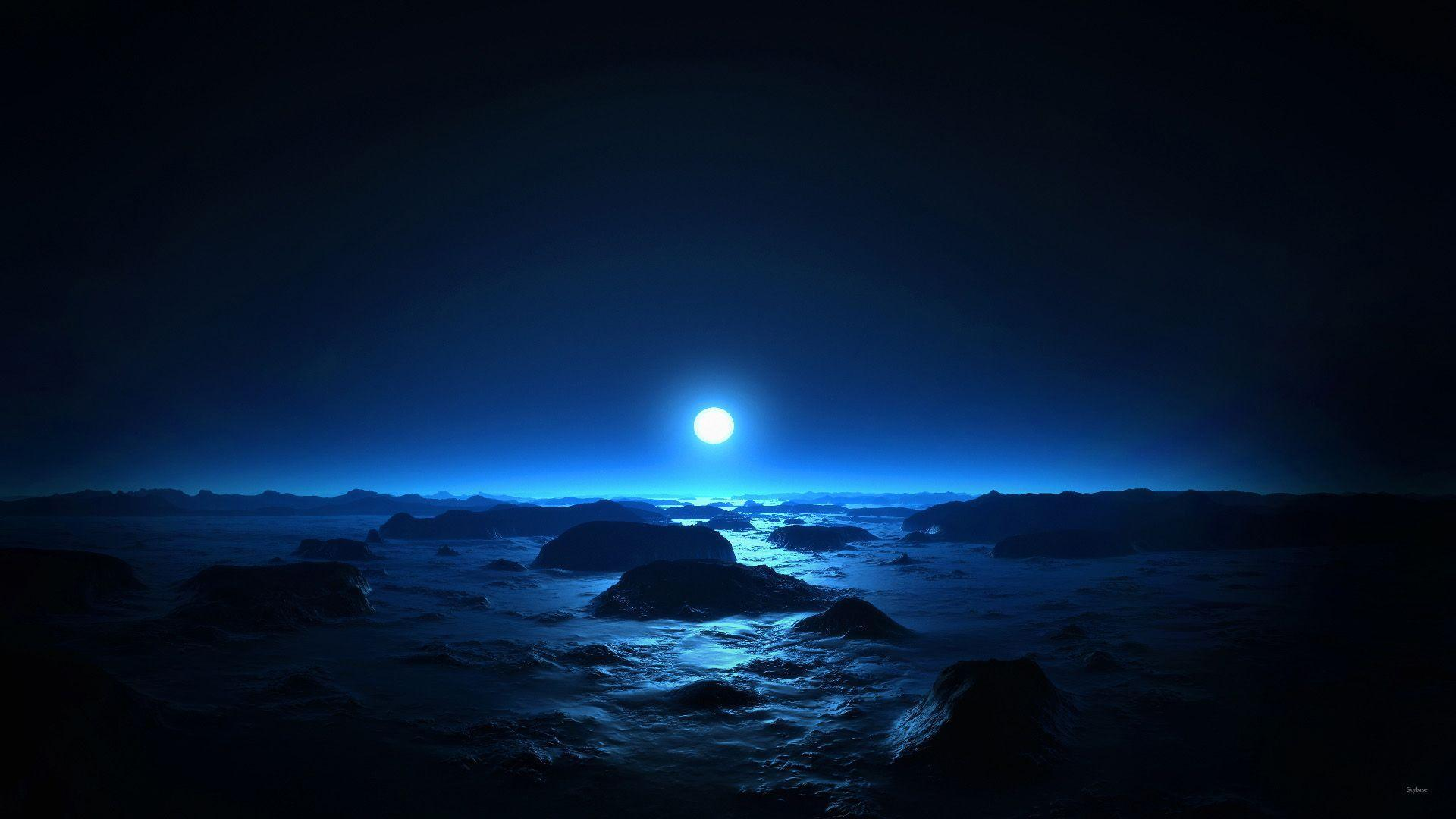 Moonlight Night Wallpapers - Wallpaper Cave