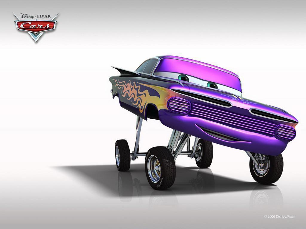Cars cartoon Normal 1024x768