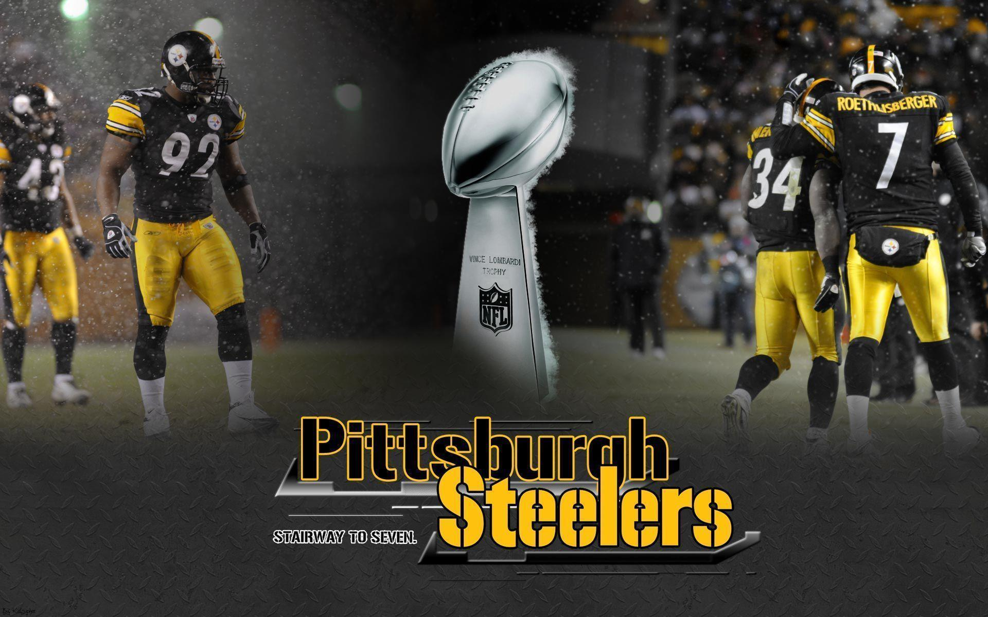Backgrounds of the day: Pittsburgh Steelers