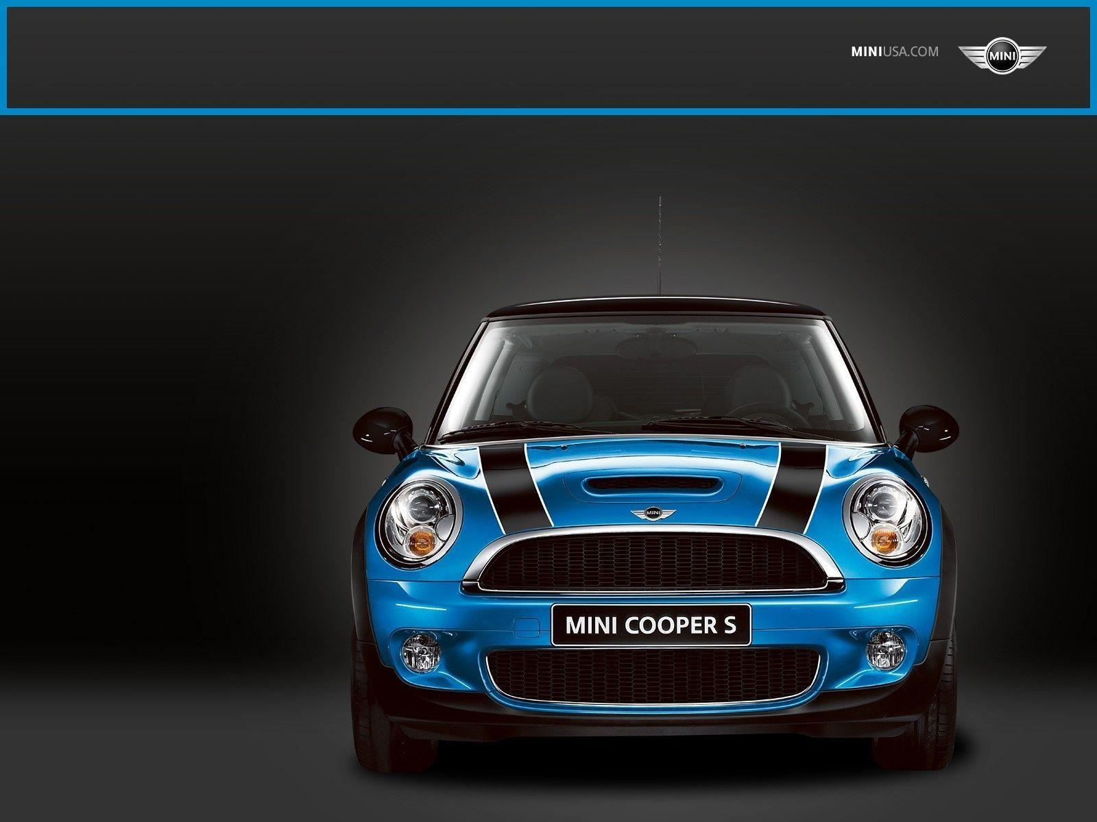 Mini Cooper Blue Exclusive HD Wallpapers