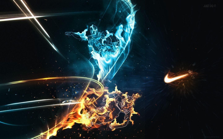 Nike logo pictures wallpapers wallpaper cave for Screensaver inter gratis