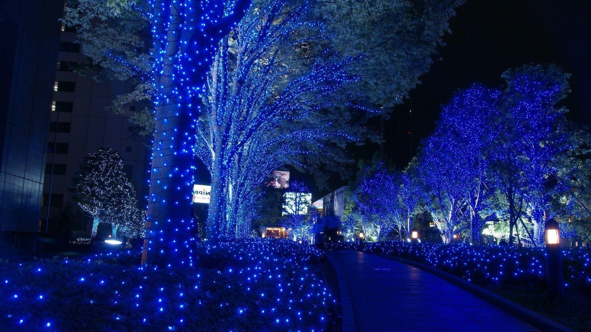 xmas stuff for blue christmas lights wallpaper