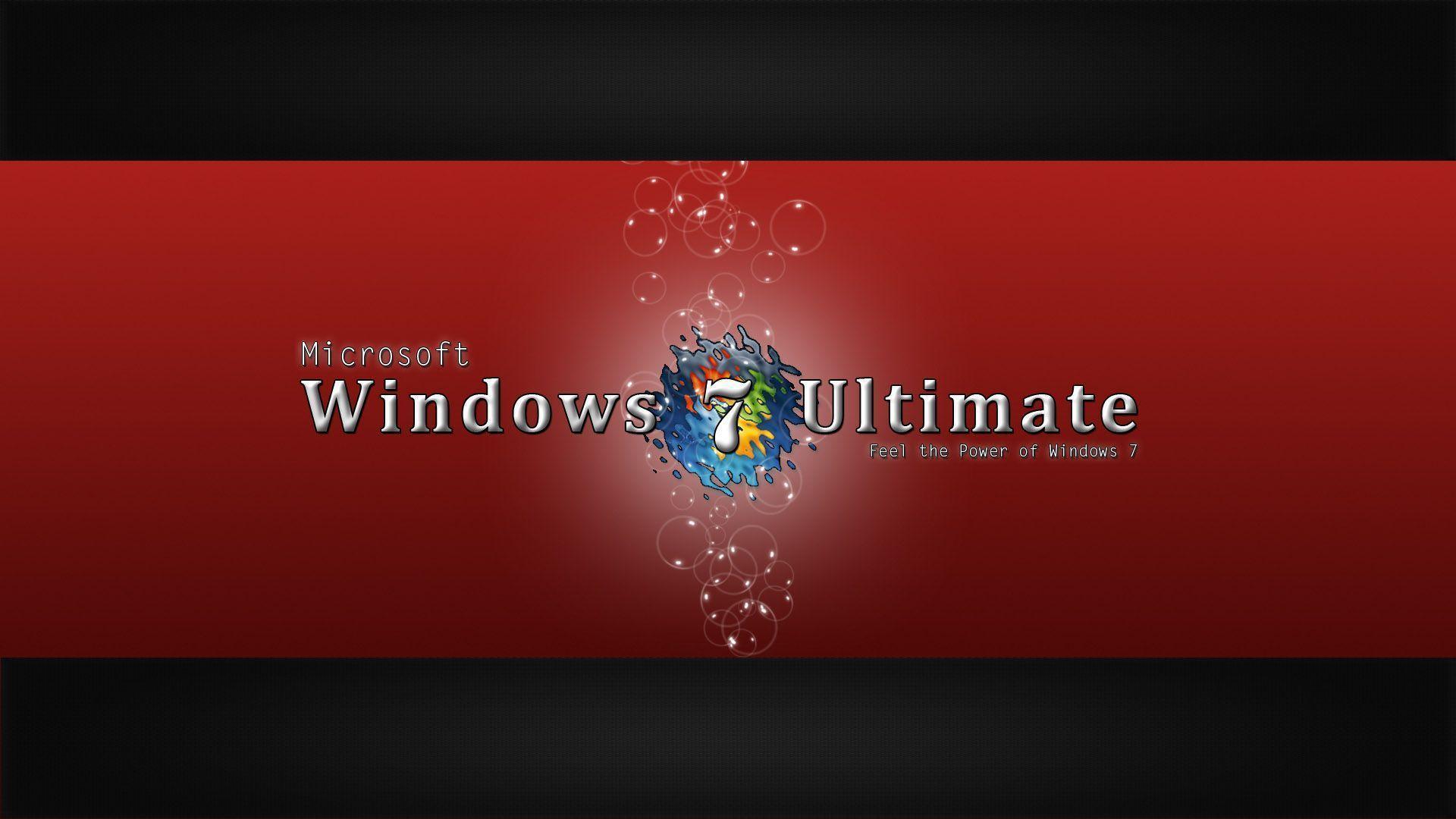 Windows 7 Ultimate Desktop Backgrounds