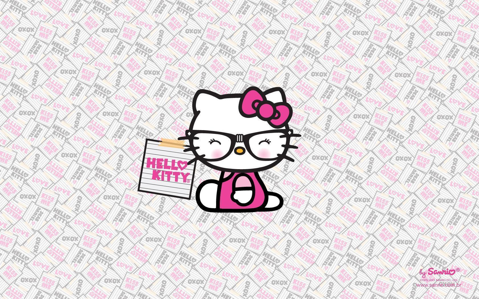 Hello Kitty Backgrounds For Computers Nerd Backgrounds - Wal...
