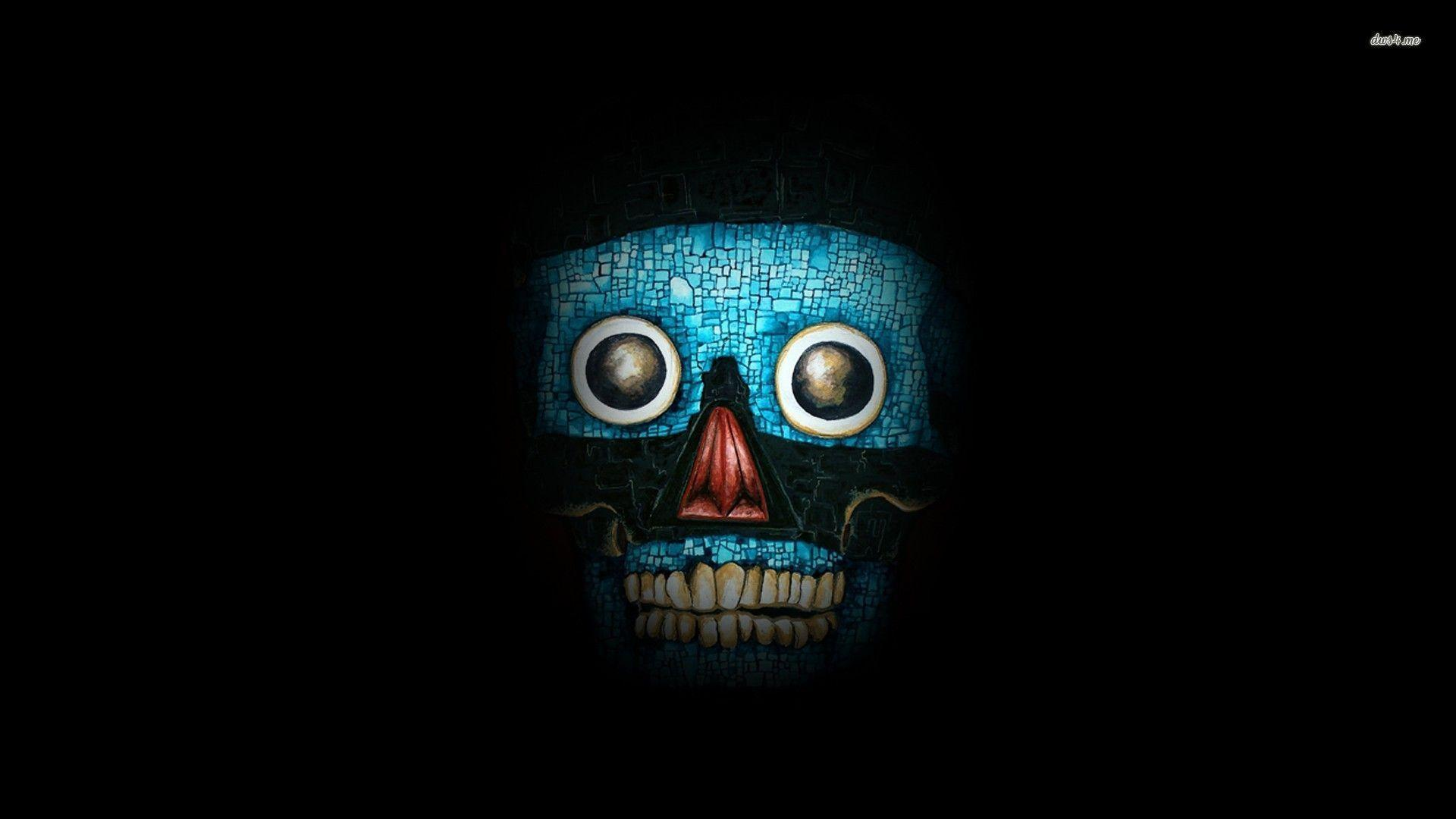 Incredible Neon Skull Wallpaper: Skull Art Wallpapers