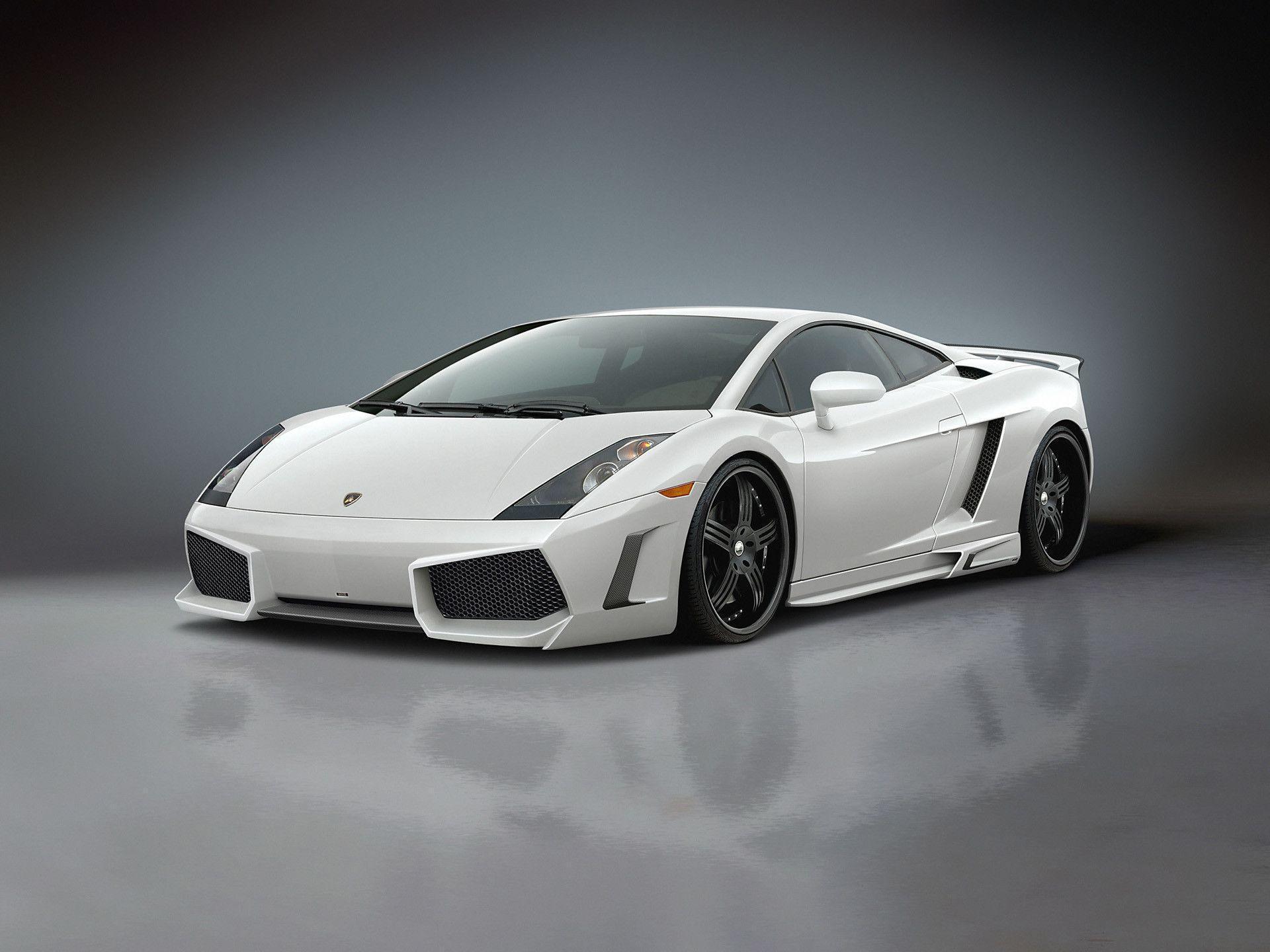 Cool Lamborghini White Car
