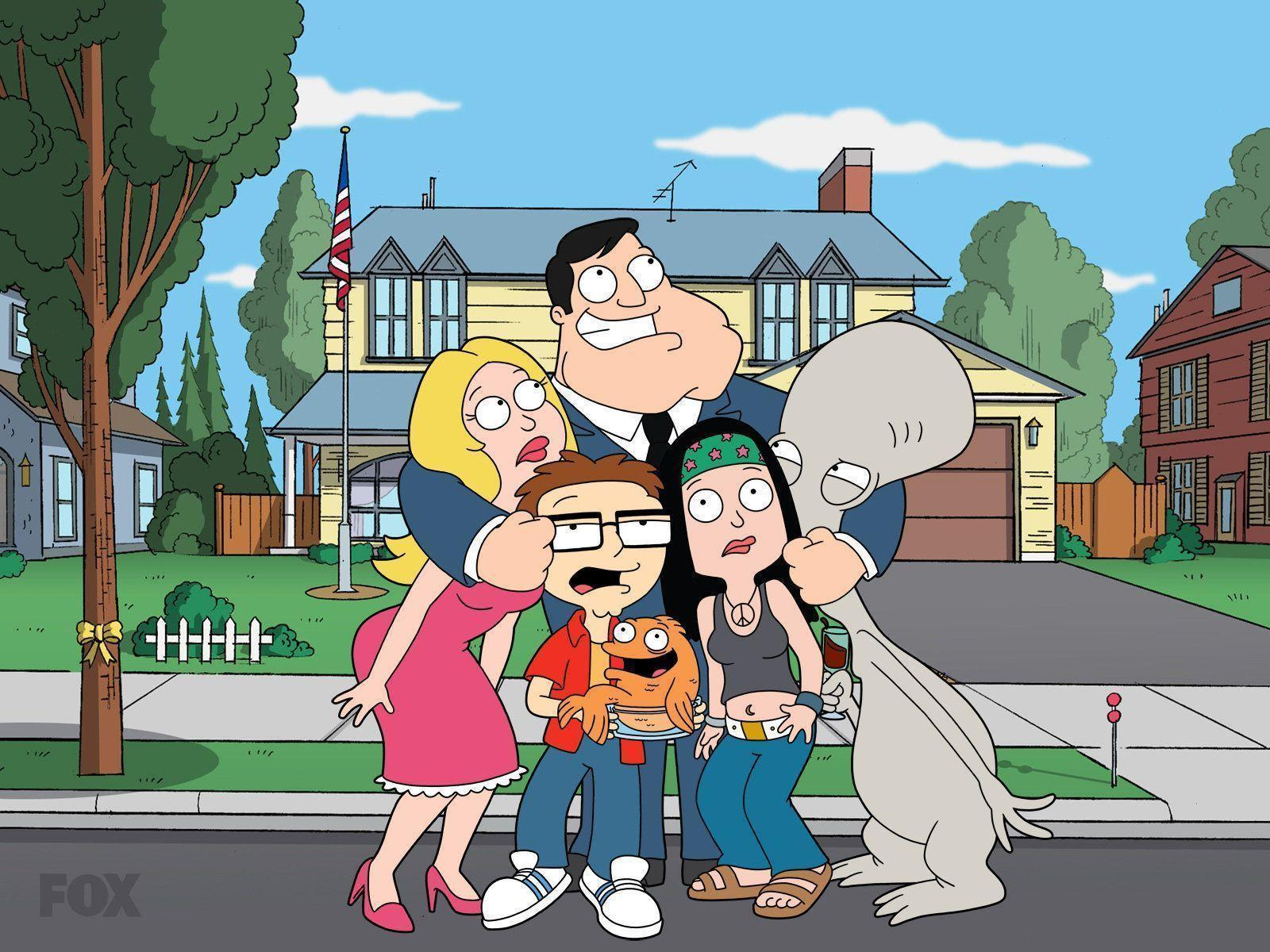 American Dad Wallpaper 39933 in Movies - Telusers.