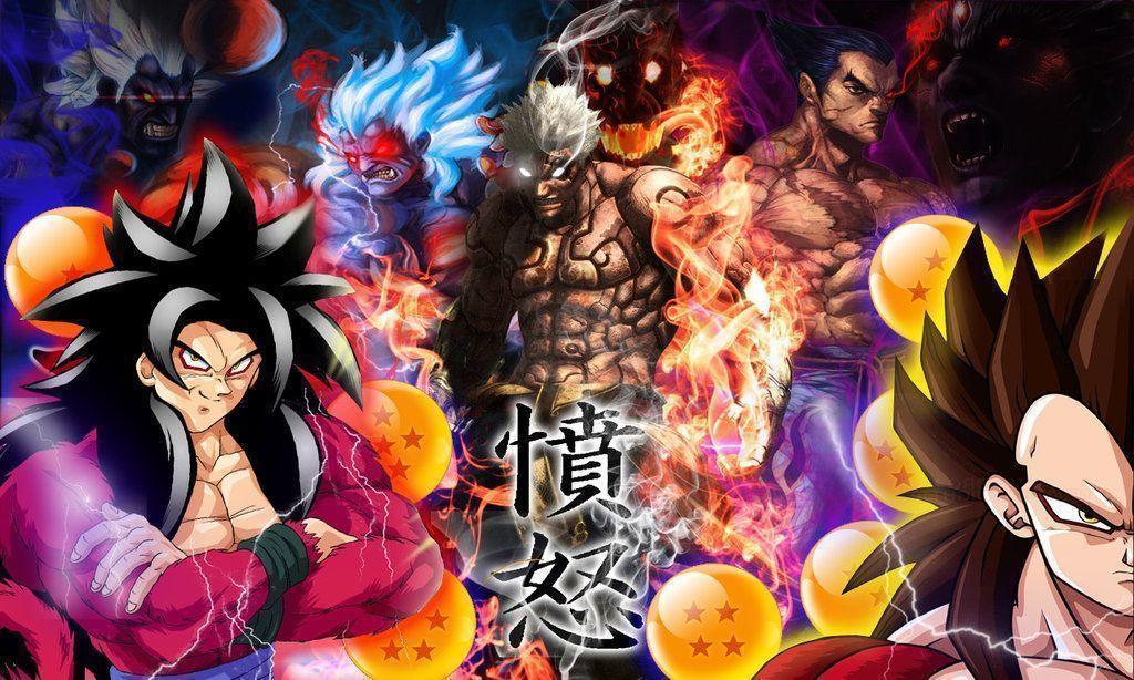 Goku And Vegeta Ssj4 Wallpaper