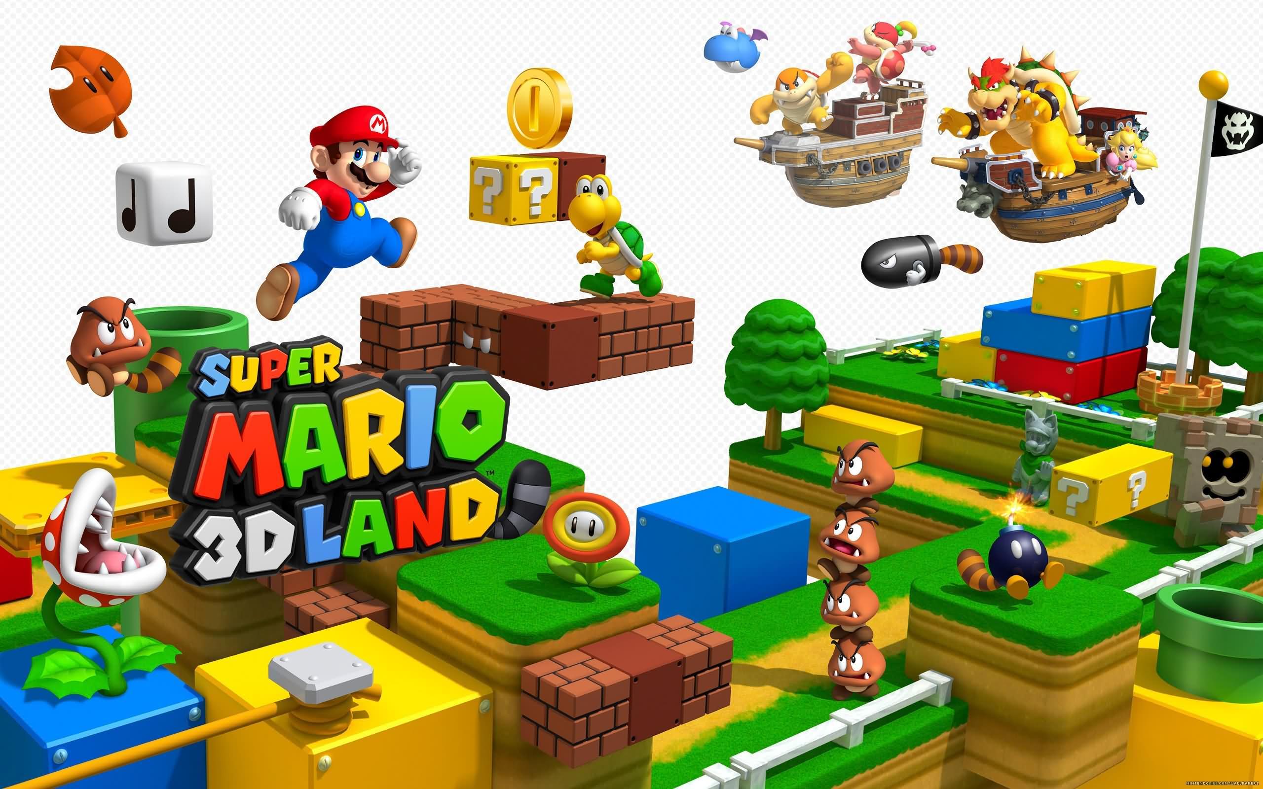 Mario Desktop Backgrounds: Mario Wallpapers HD