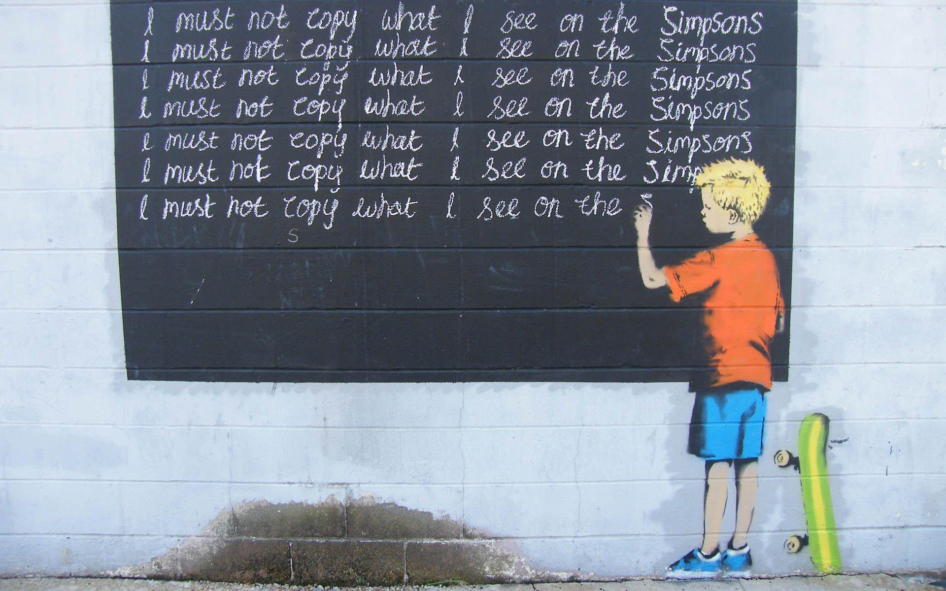 Banksy Art Wallpapers - Wallpaper Cave