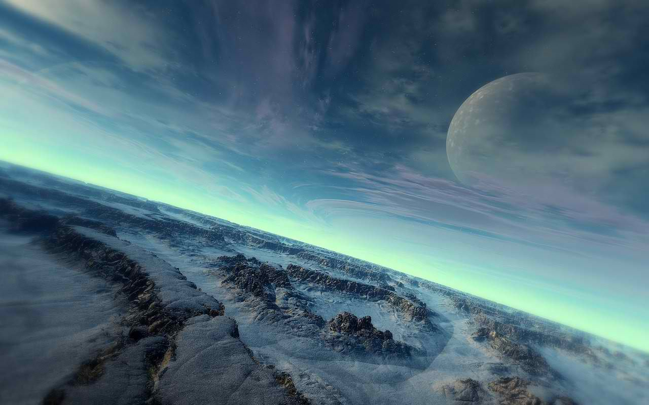 World Wallpaper Sci Fi Wallpaper: Sci-Fi Backgrounds