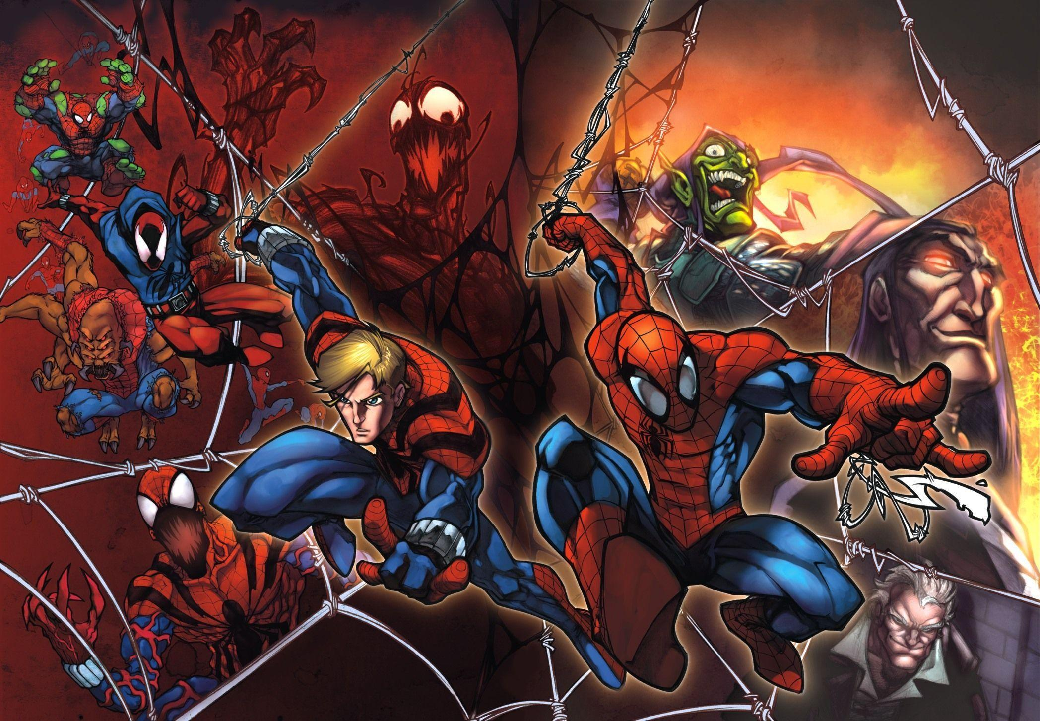 Spiderman Wallpaper Marvel Comics