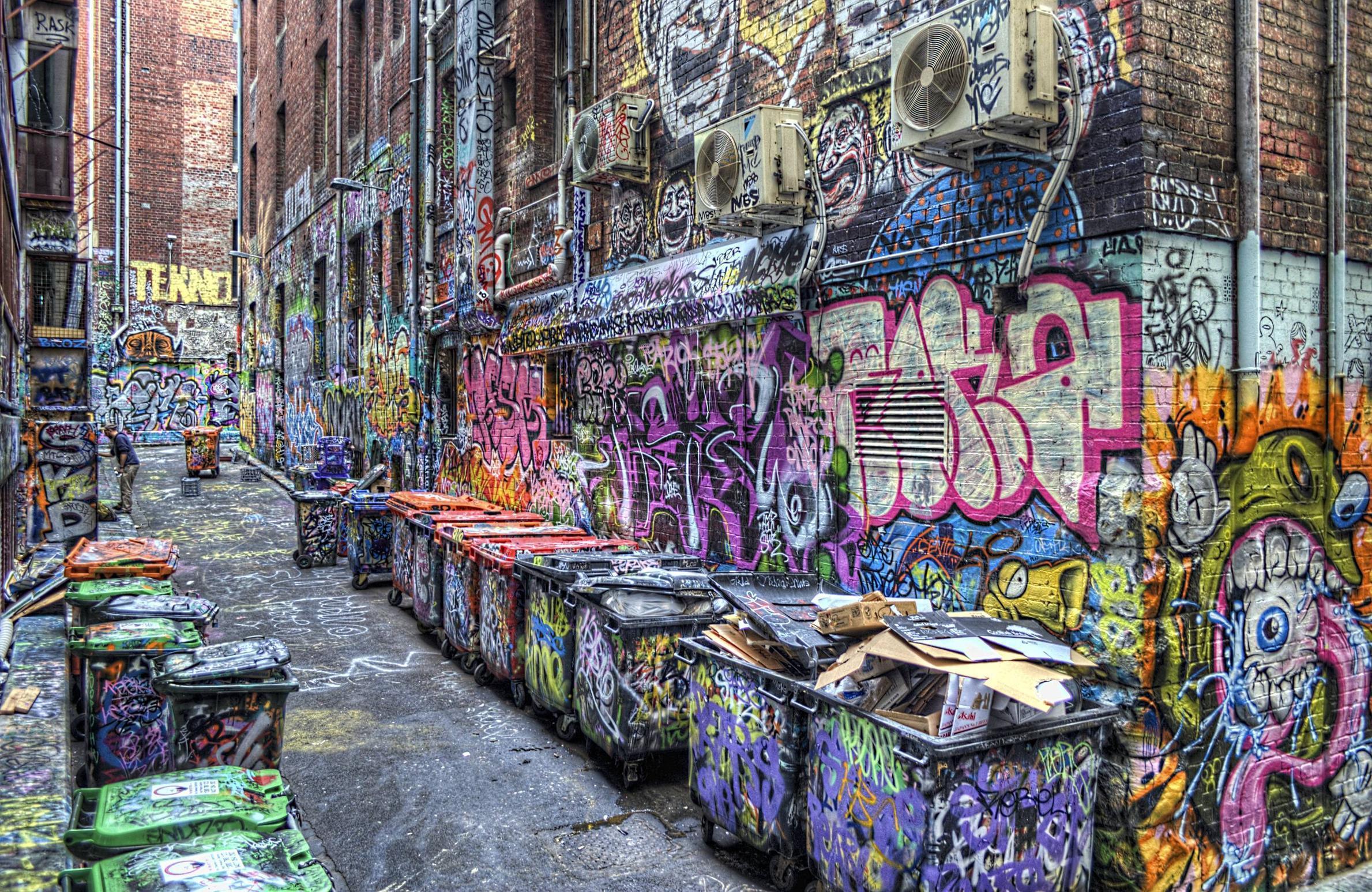 Best 3D Graffiti Wallpaper
