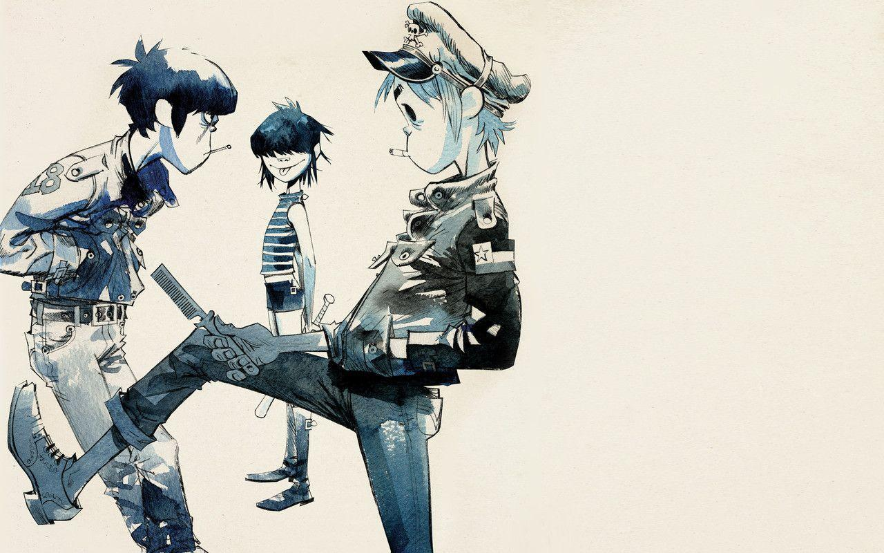 download wallpaper gorillaz desktop - photo #3