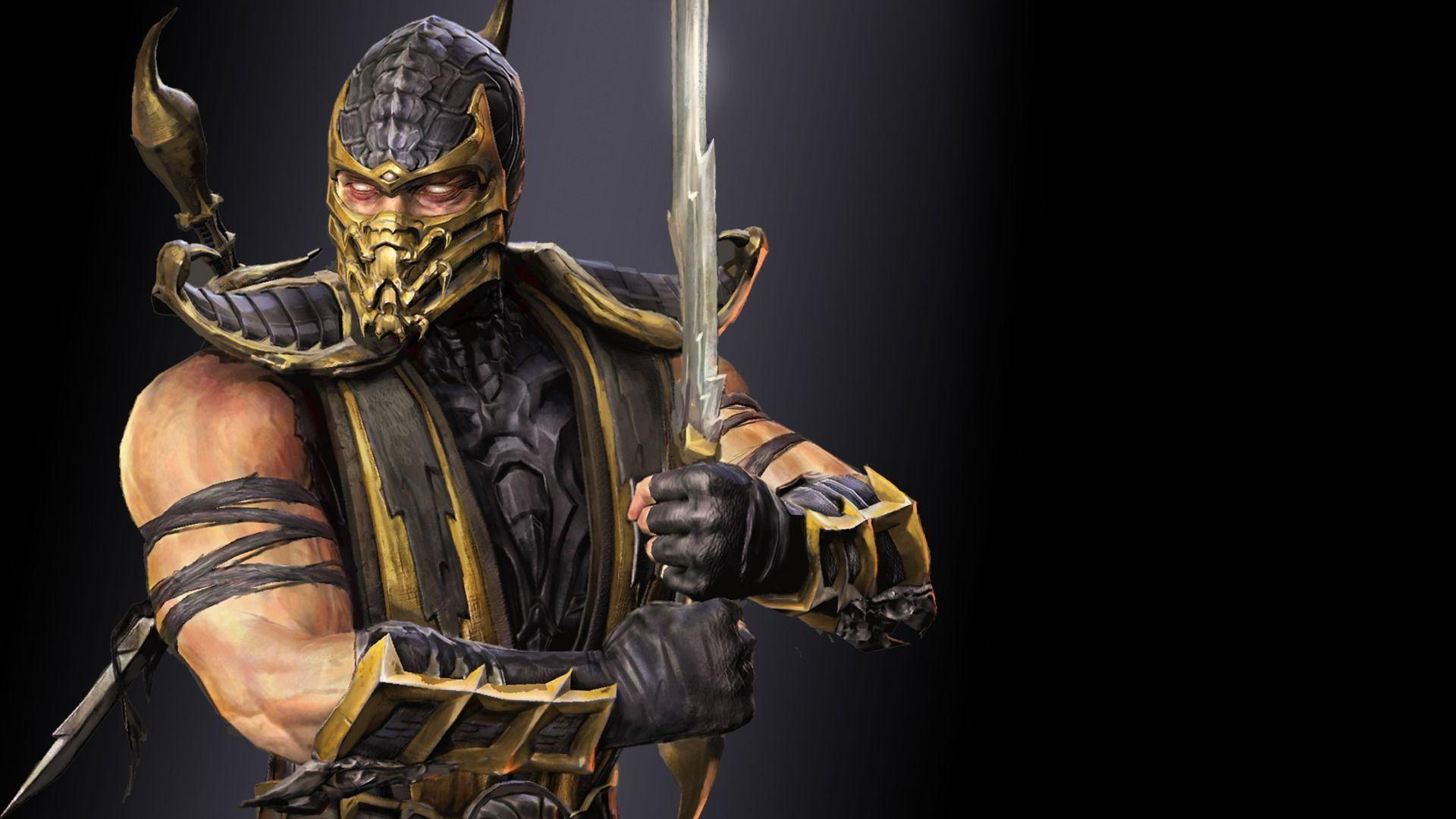 Mortal Kombat Scorpion Wallpaper 23 HD 1920x1080
