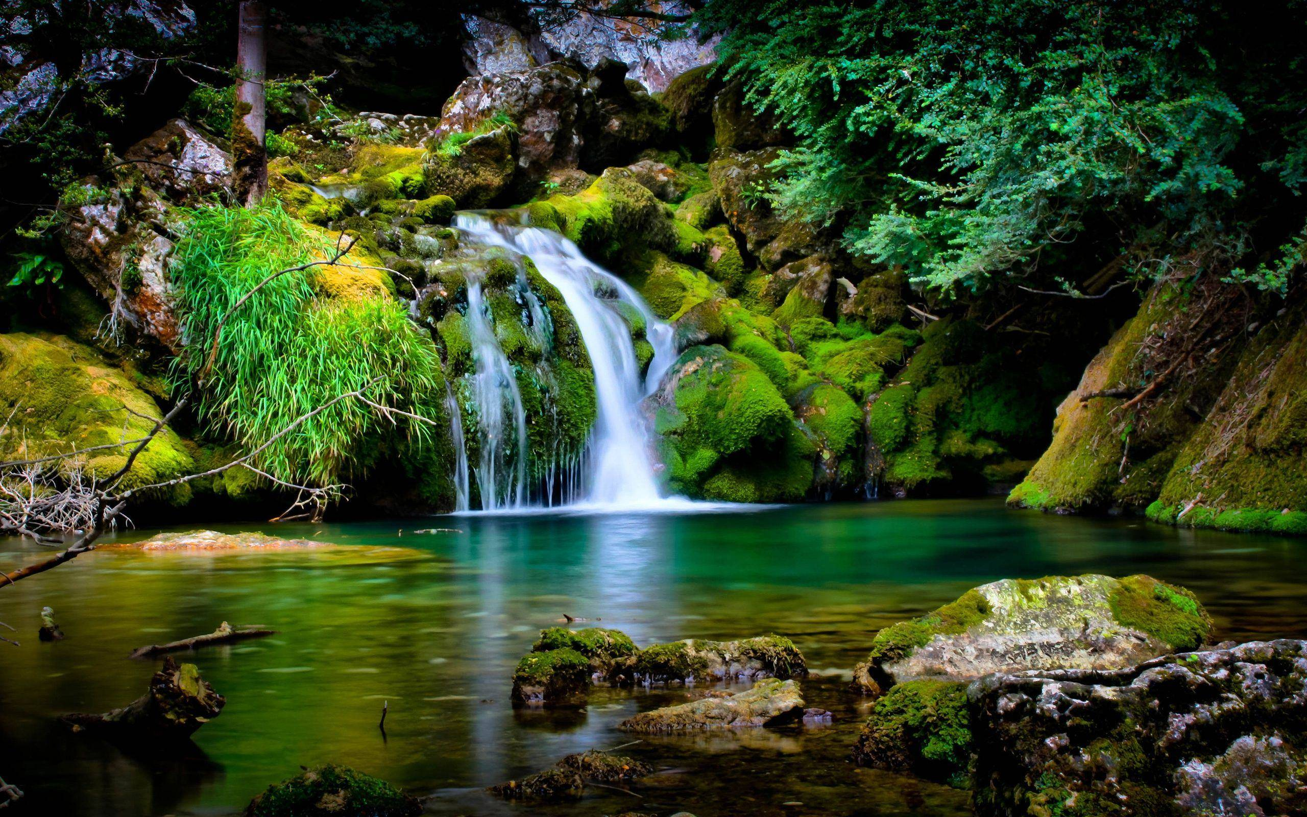 Wallpapers For > Beautiful Waterfalls Wallpapers