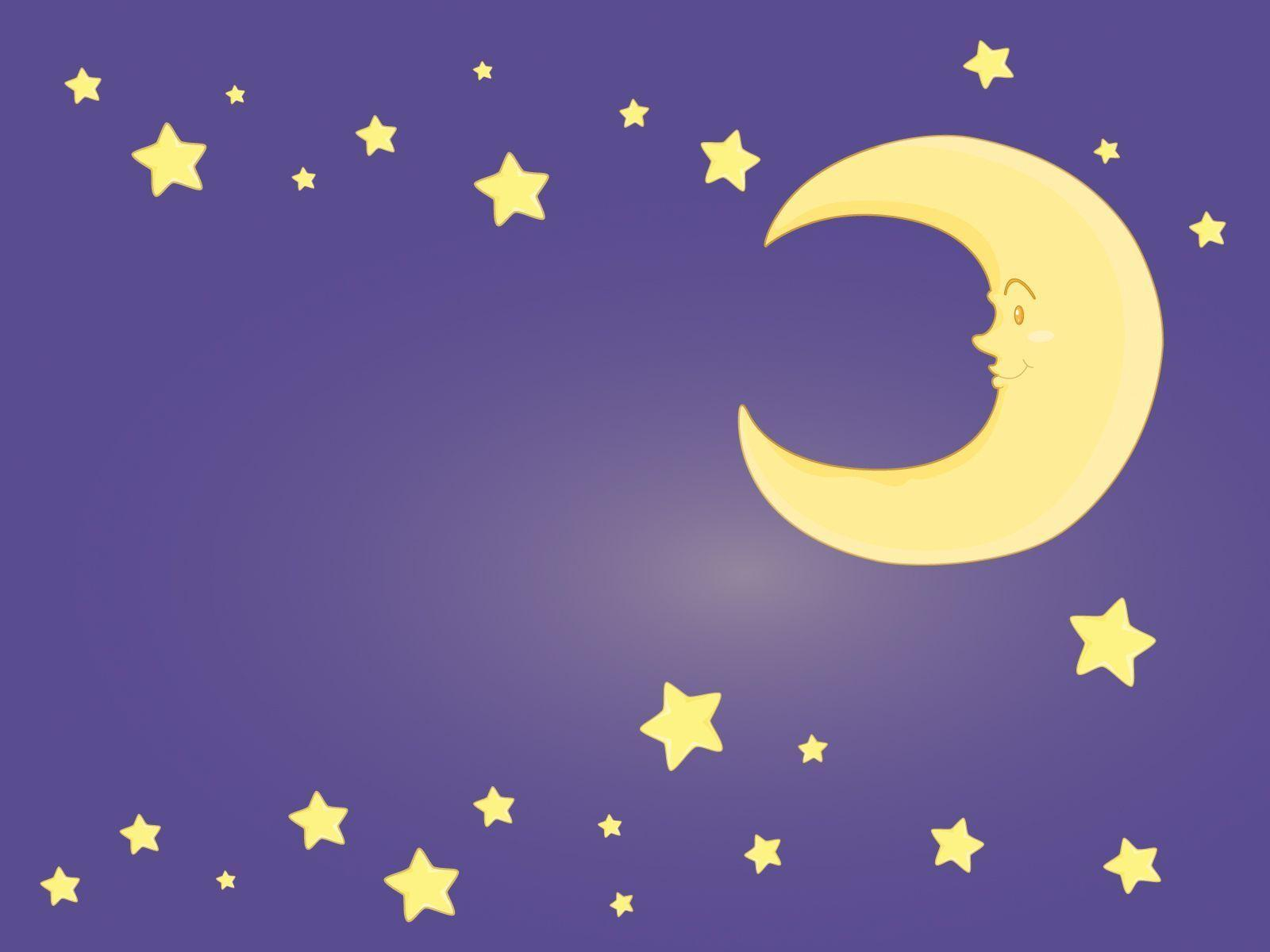 Moon And Stars Backgrounds