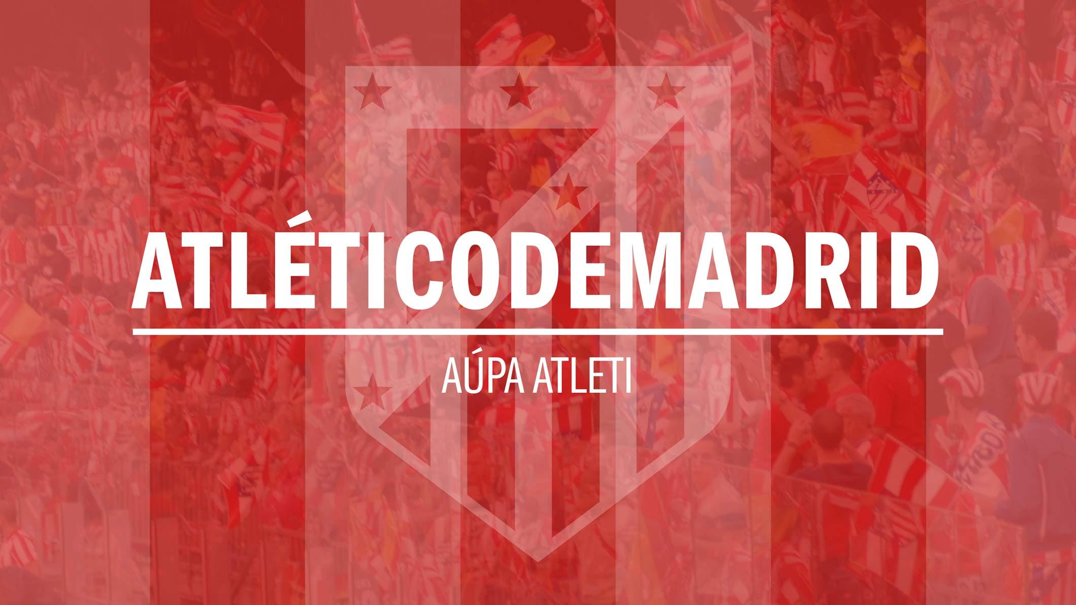 New Atletico De Madrid FC Logo Wallpaper HD for Desktop Background ...