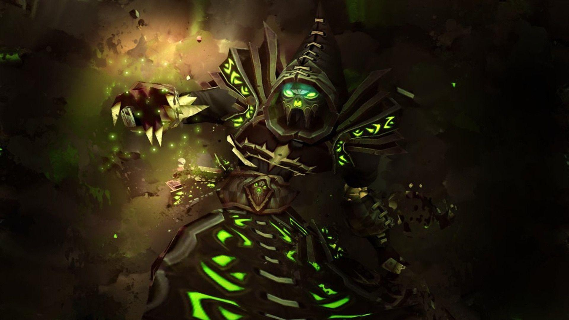 World Of Warcraft Warlock Wallpapers - Wallpaper Cave