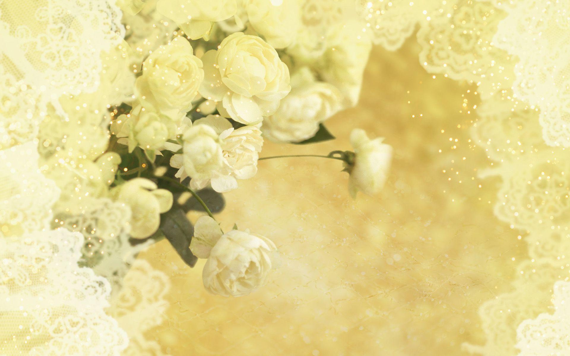 Wedding flower backgrounds wallpaper cave for White wedding wallpaper