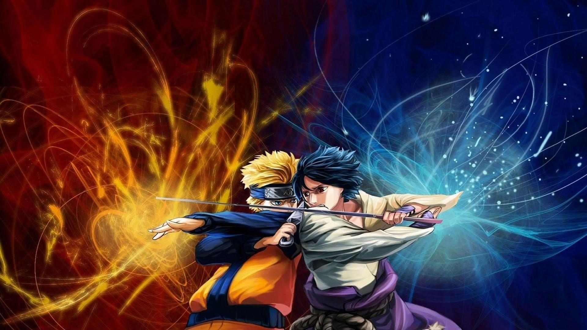 Naruto Vs Sasuke Naruto Anime Wallpapers