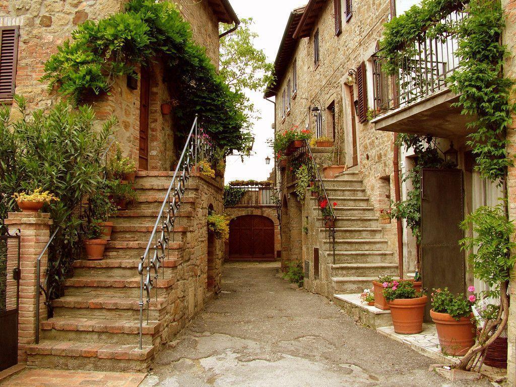 tuscany village wallpaper anghiari - photo #21