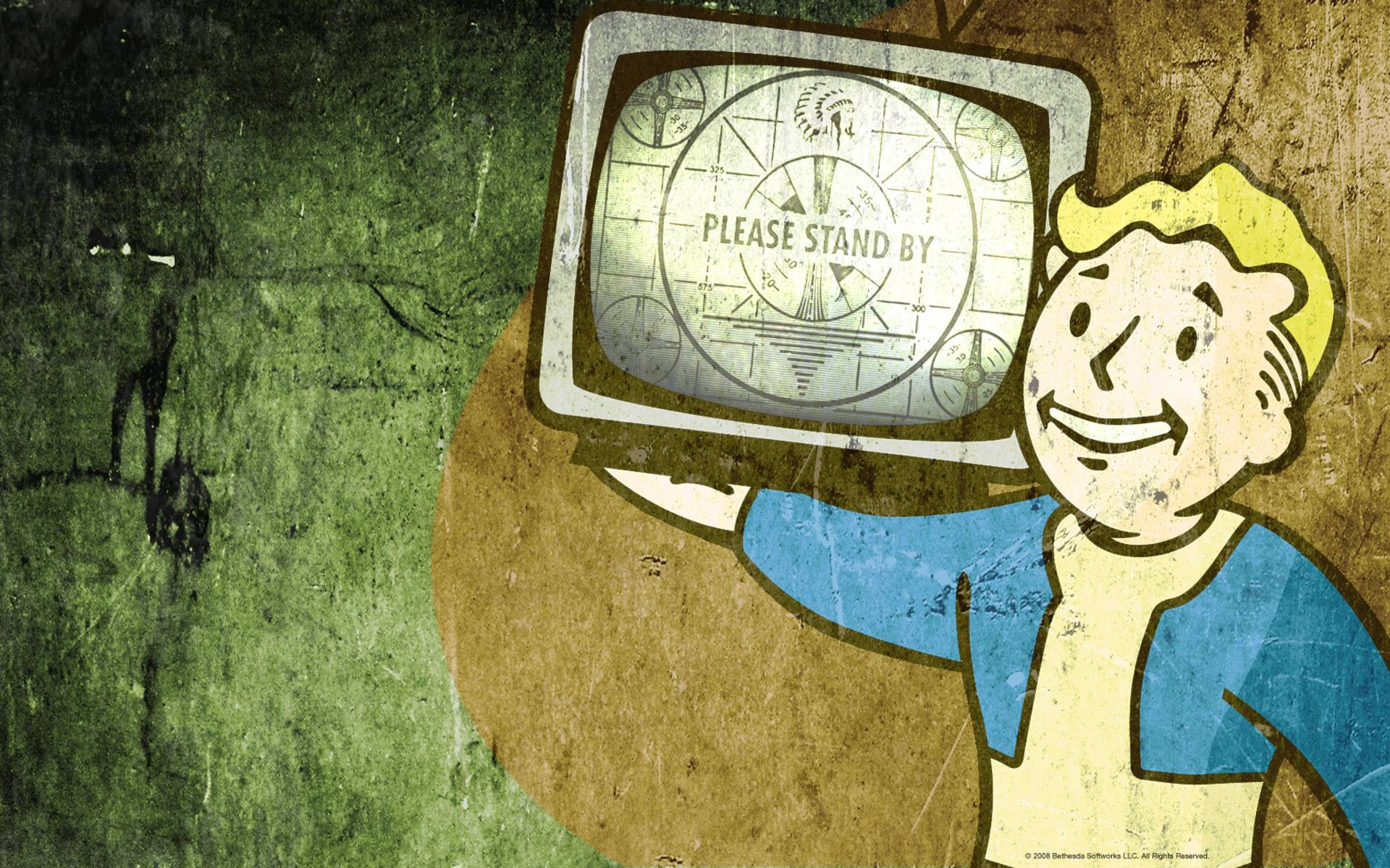 Images For > Fallout Vault Boy Wallpaper Hd