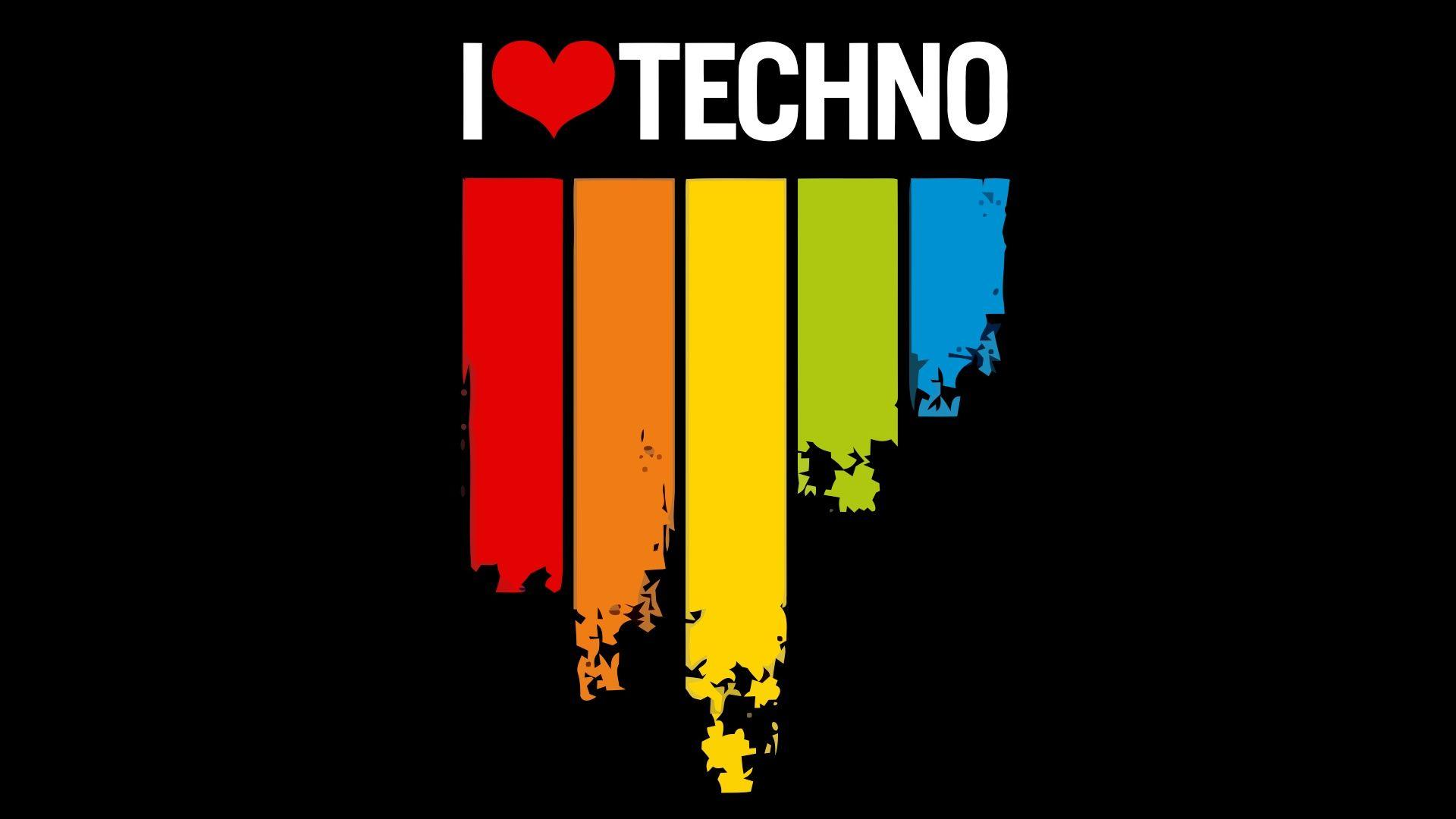 Wallpapers For > Techno Music Wallpaper