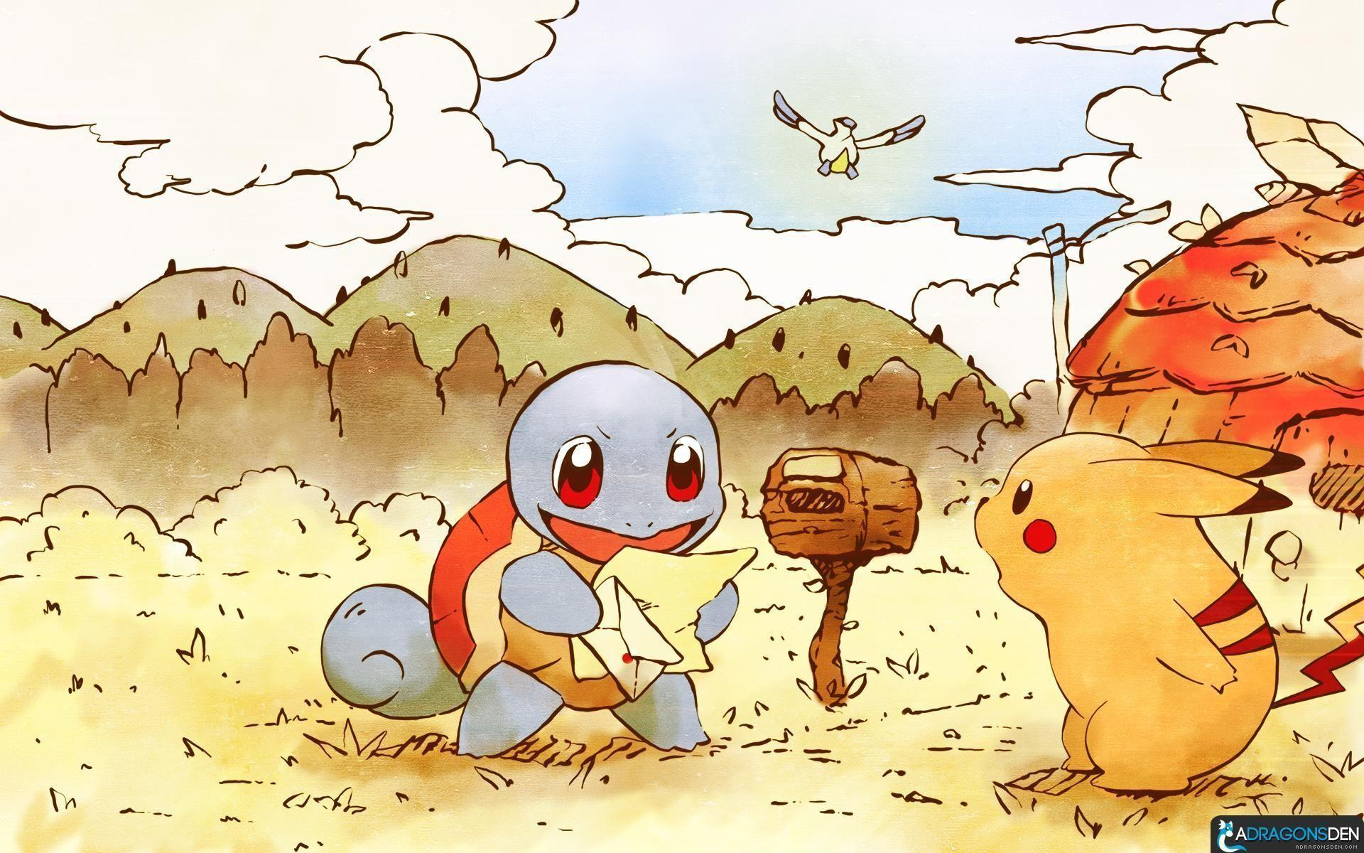 Image For > Pokemon Mystery Dungeon Pikachu