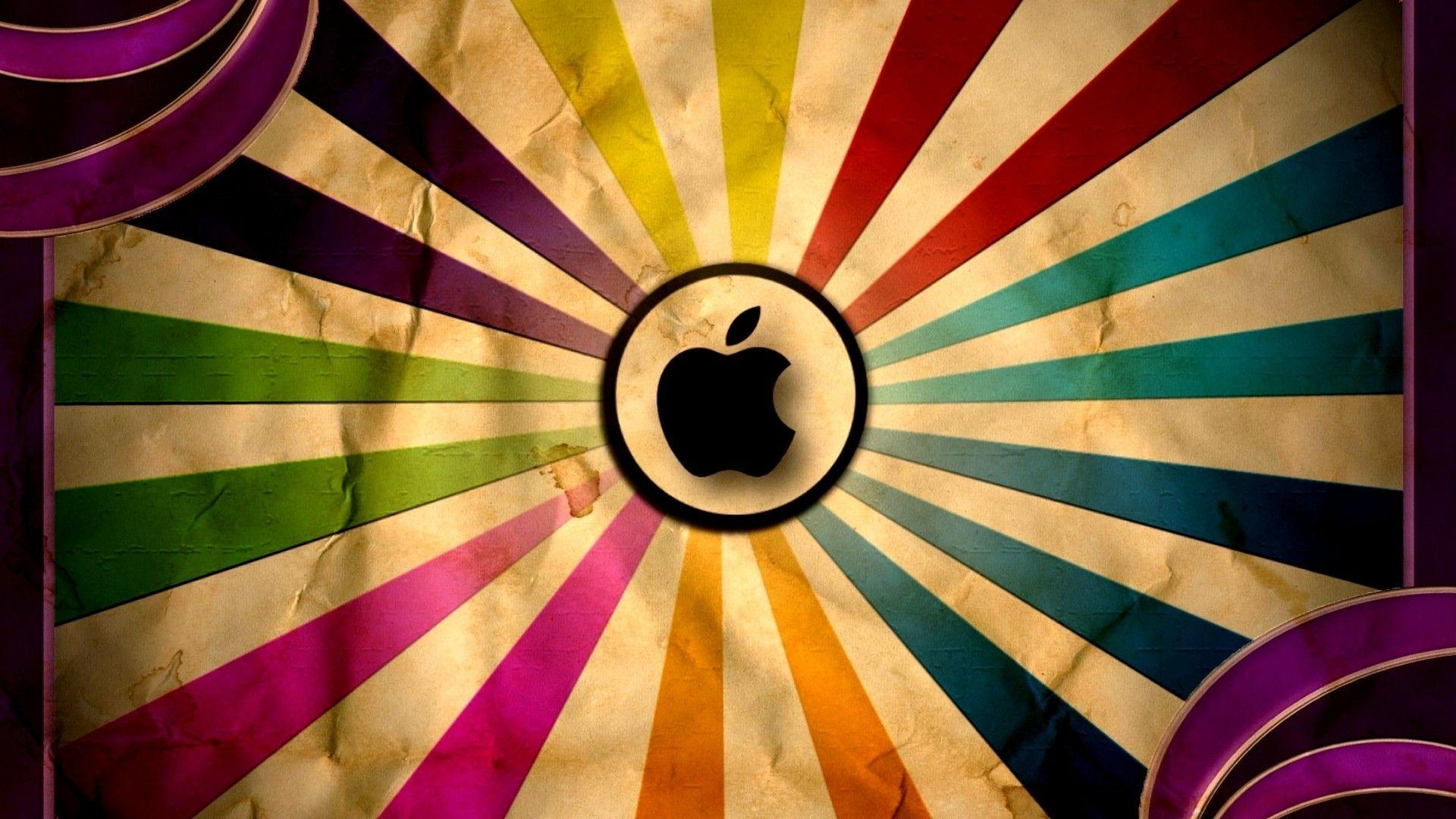 Vintage Apple Logo Backgrounds HD Wallpapers