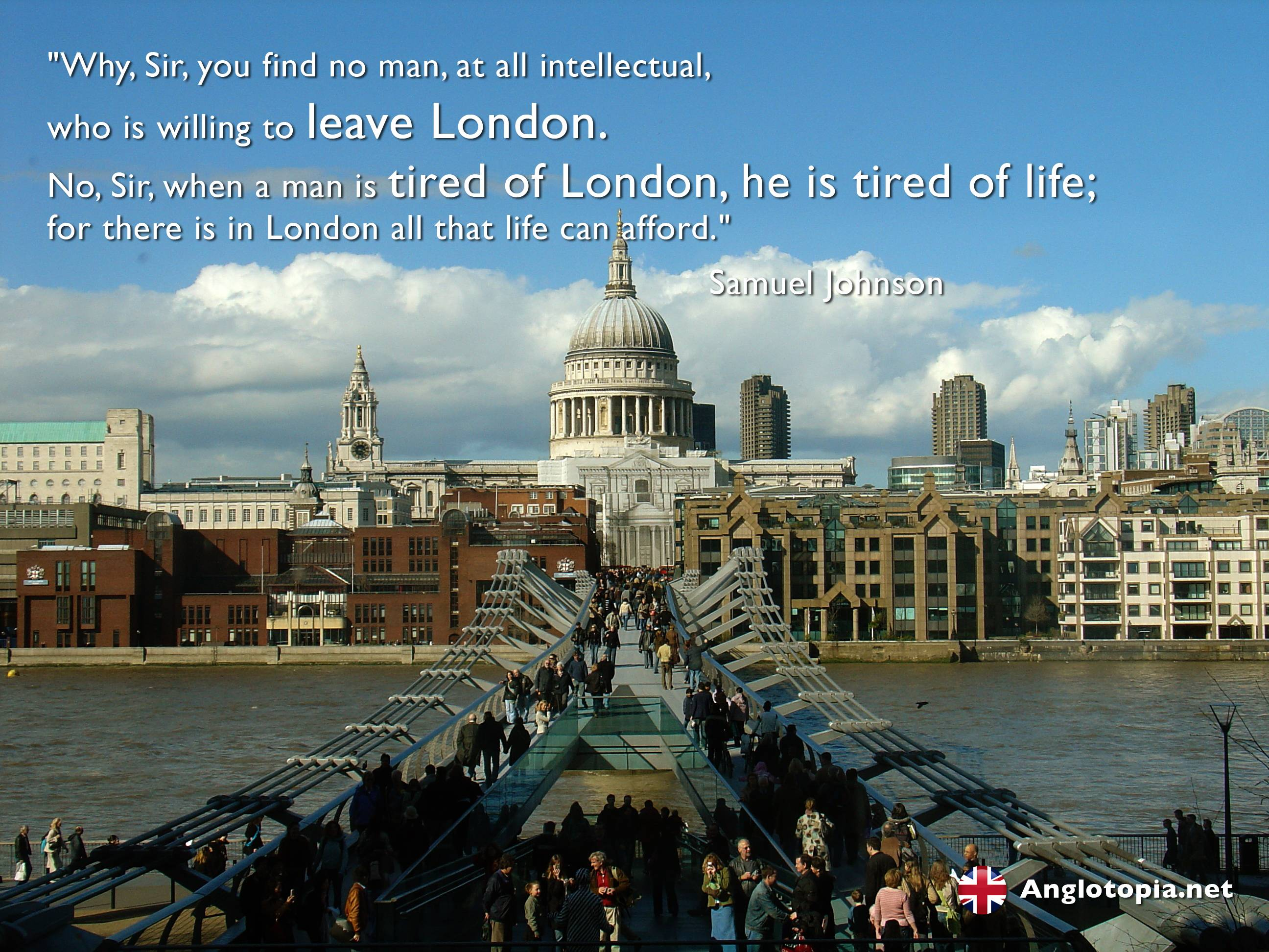 Desktop Wallpaper: London, Thames and St Paul's - Tired of London ...