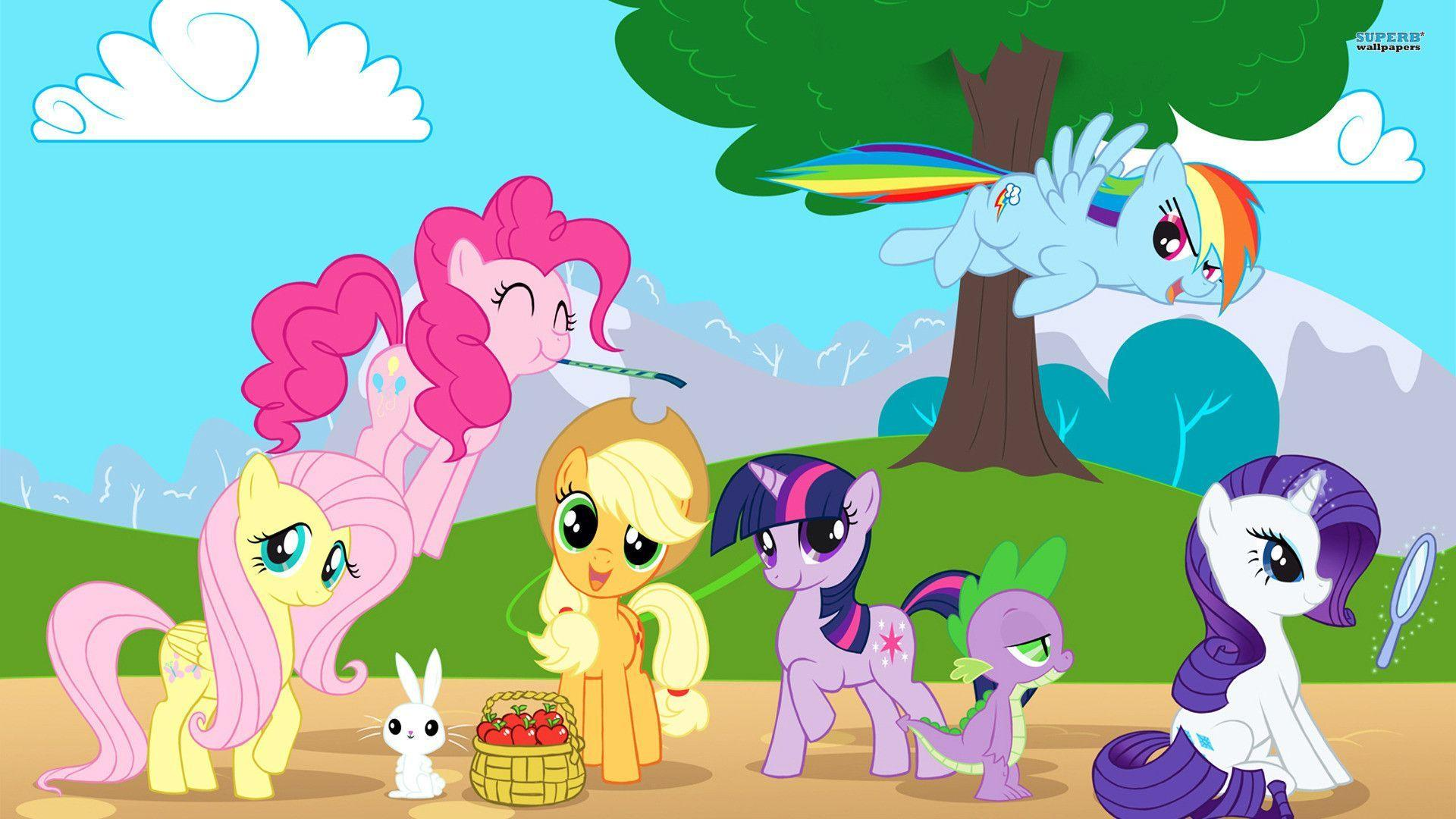 my little pony birthday wallpaper - photo #4