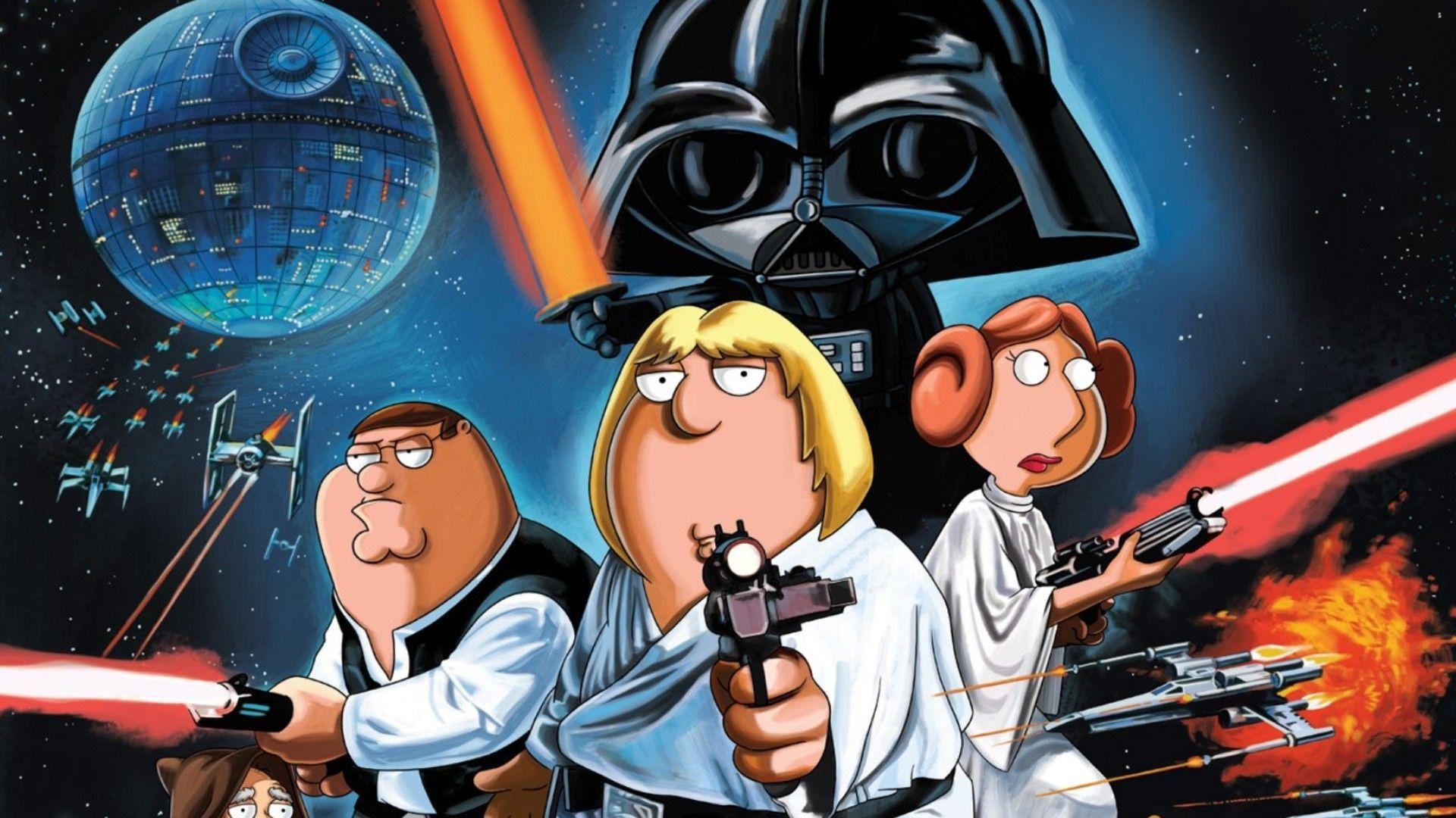 Family Guy Star Wars Wallpapers Wallpaper Cave