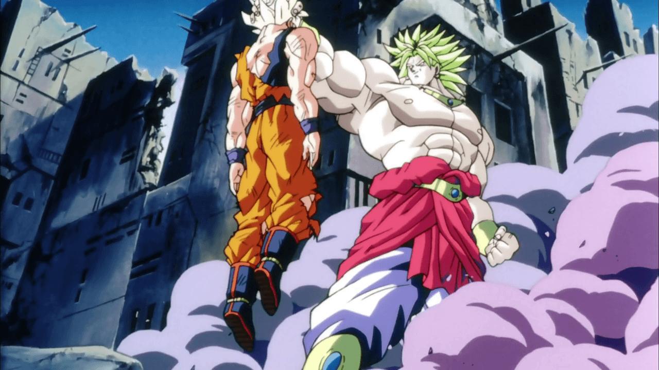 Download Dragon Ball Gt Goku Super Saiyan Vs Broly Wallpaper