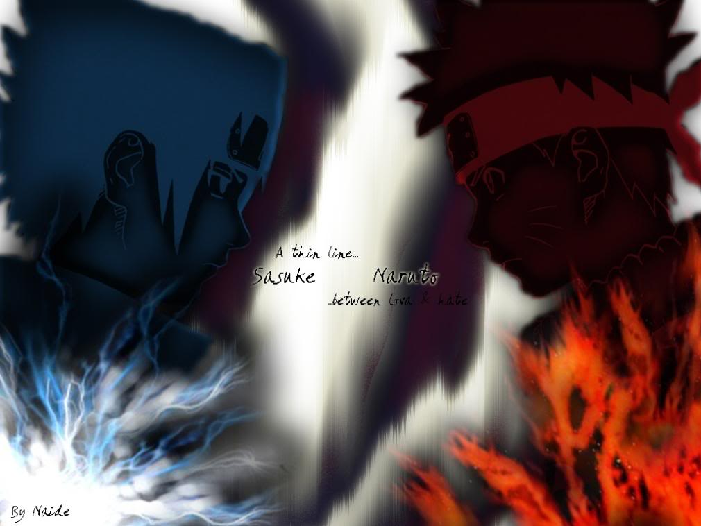 Naruto Vs Sasuke Wallpapers Photo by JSLSampaio