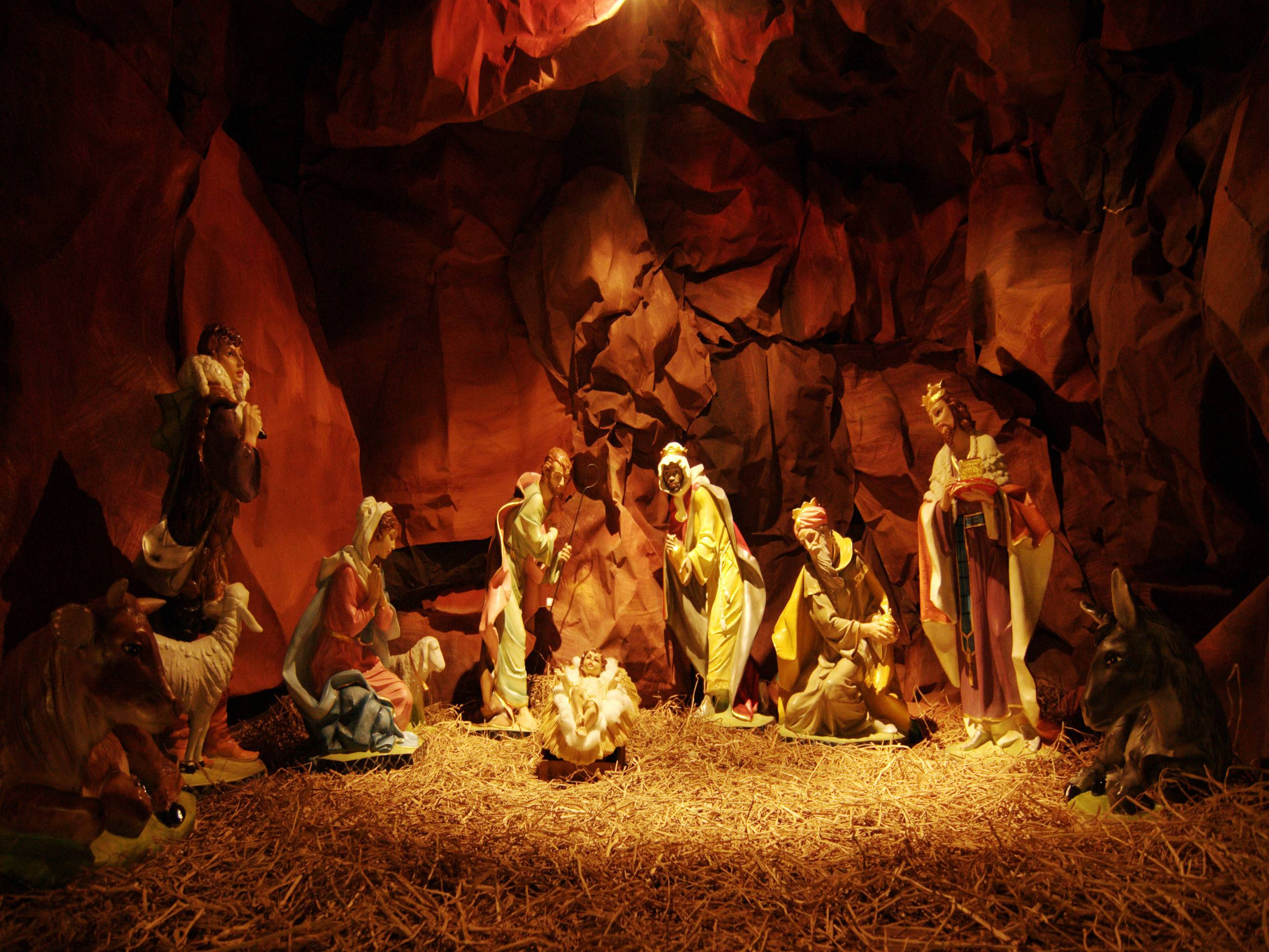 download nativity scene wallpapers