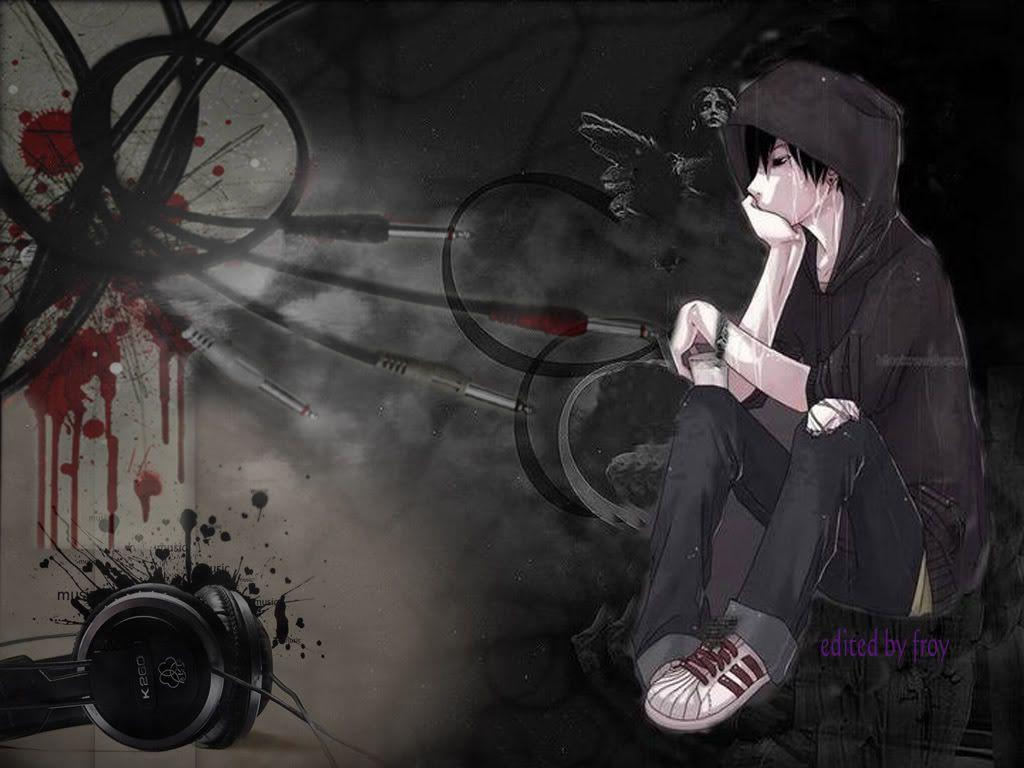 Emo anime wallpapers wallpaper cave - Wallpaper hd anime boy ...