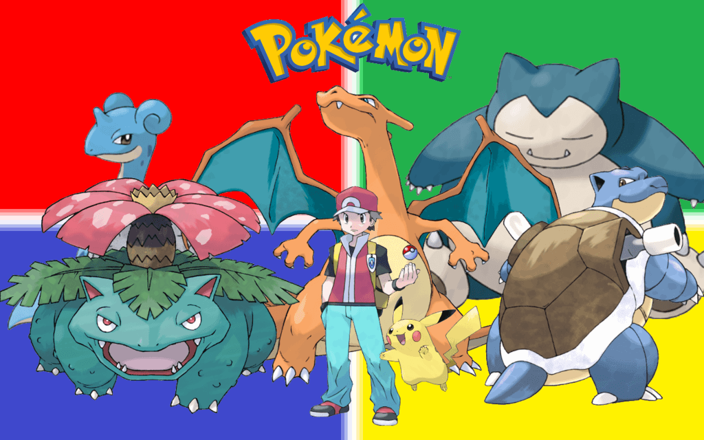 Pokemon Trainer Red Wallpapers by LeafGreen1924