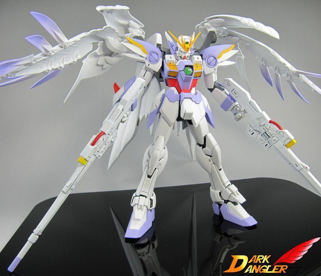 MG Gundam Wing Zero Custom Paint: Photoreview No.9 Wallpapers Size