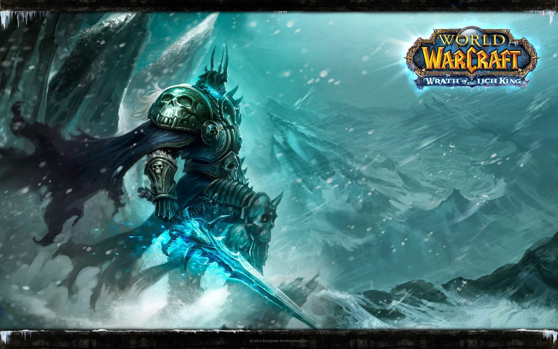 World Of Warcraft: Wrath Of The Lich King Computer Wallpapers ...