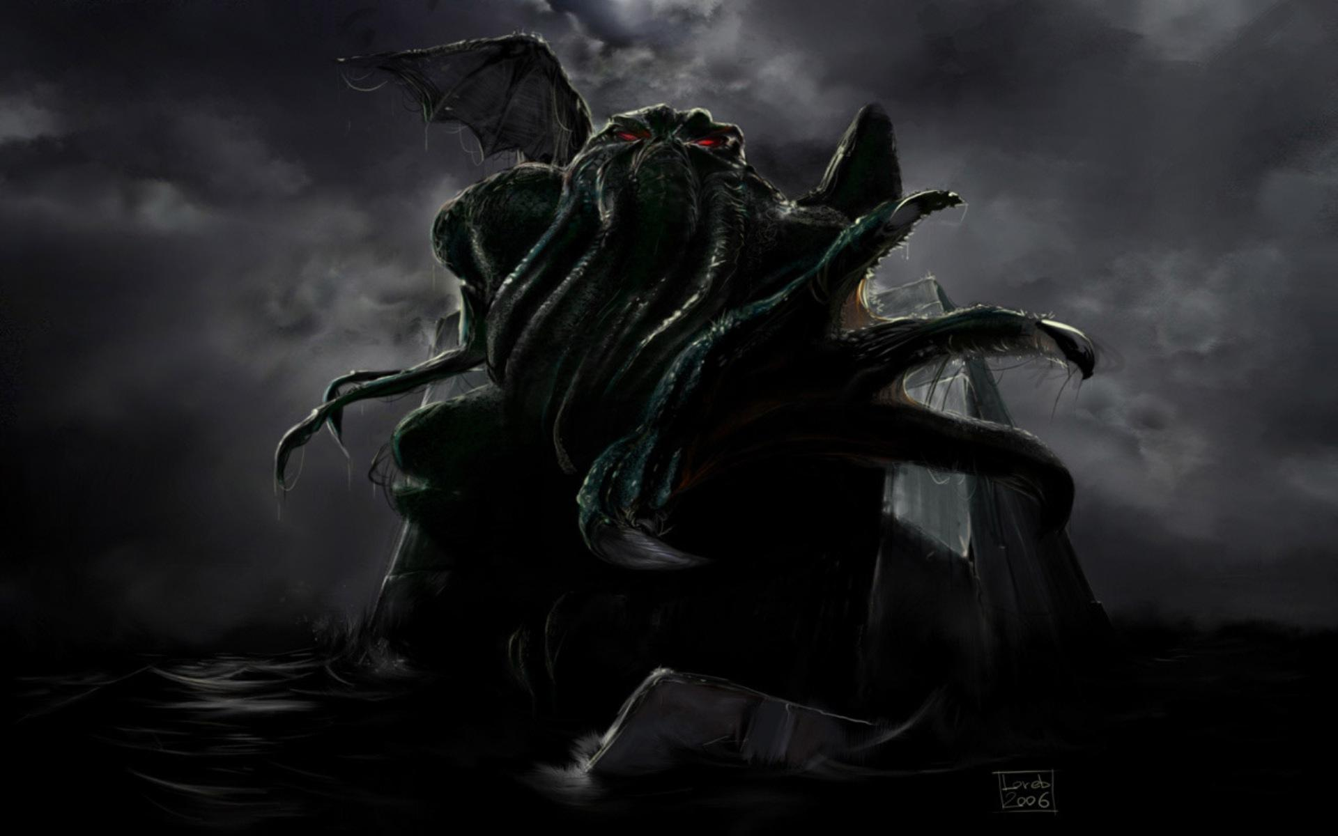 cthulhu wallpaper large hd wallpaper database